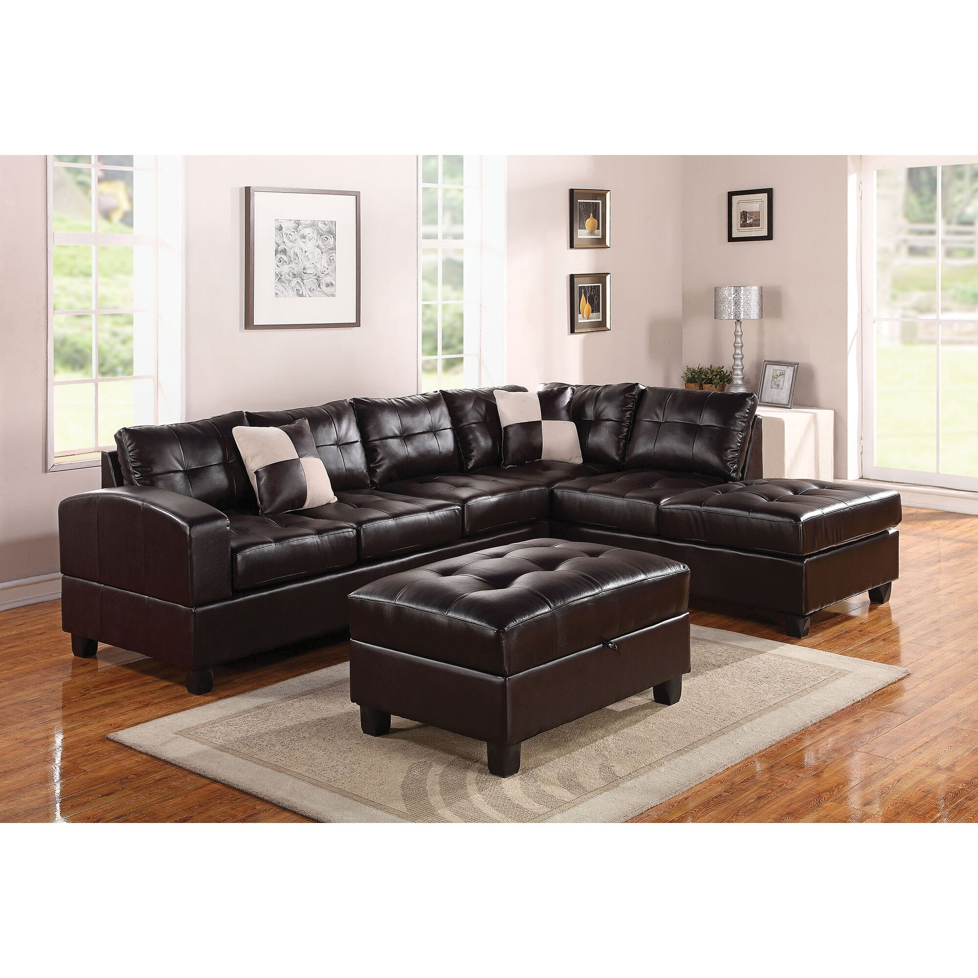 Ashley Sectional Patola Park Sofa With Cuddler Patola Park 3