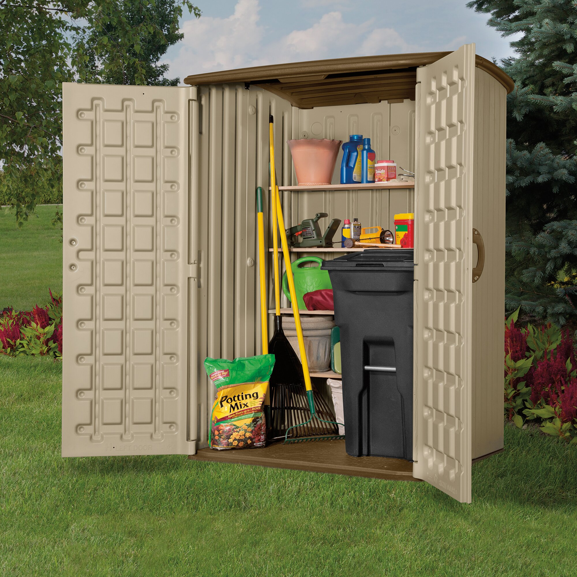 Garden Sheds 3 X 4 garden sheds 4 x 5 absco storemaster metal pent shed throughout