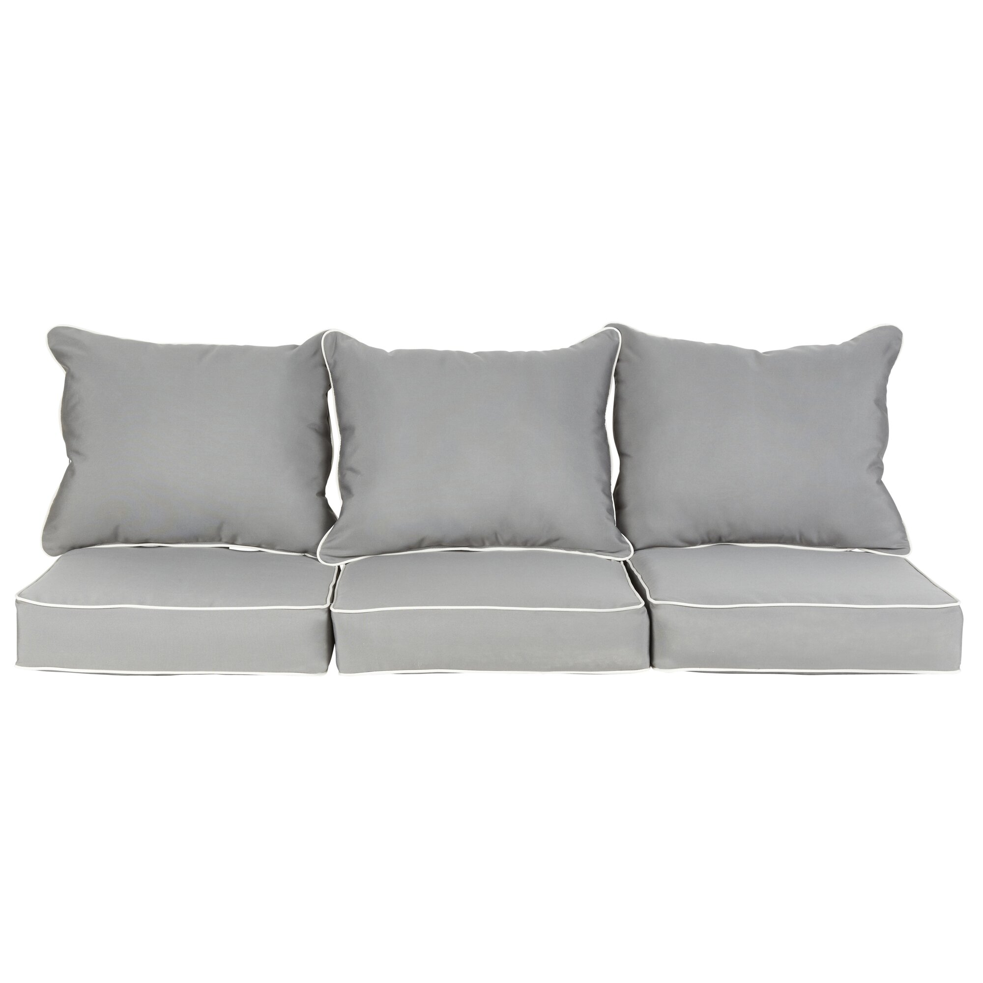 Latitude Run Michelle 6 Piece Sunbrella Loveseat Sofa Cushion Set