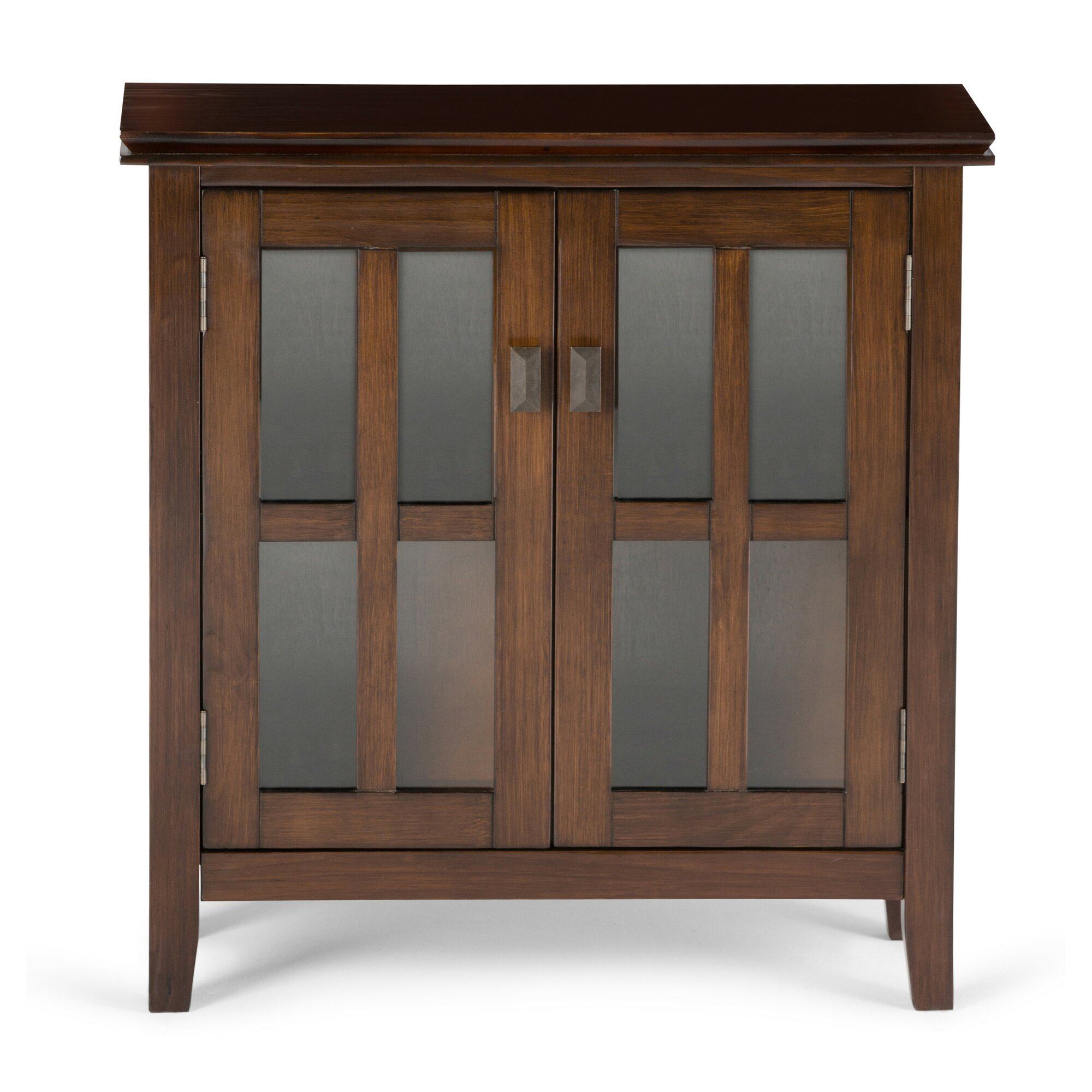 Simpli Home Artisan 2 Door Storage Cabinet & Reviews