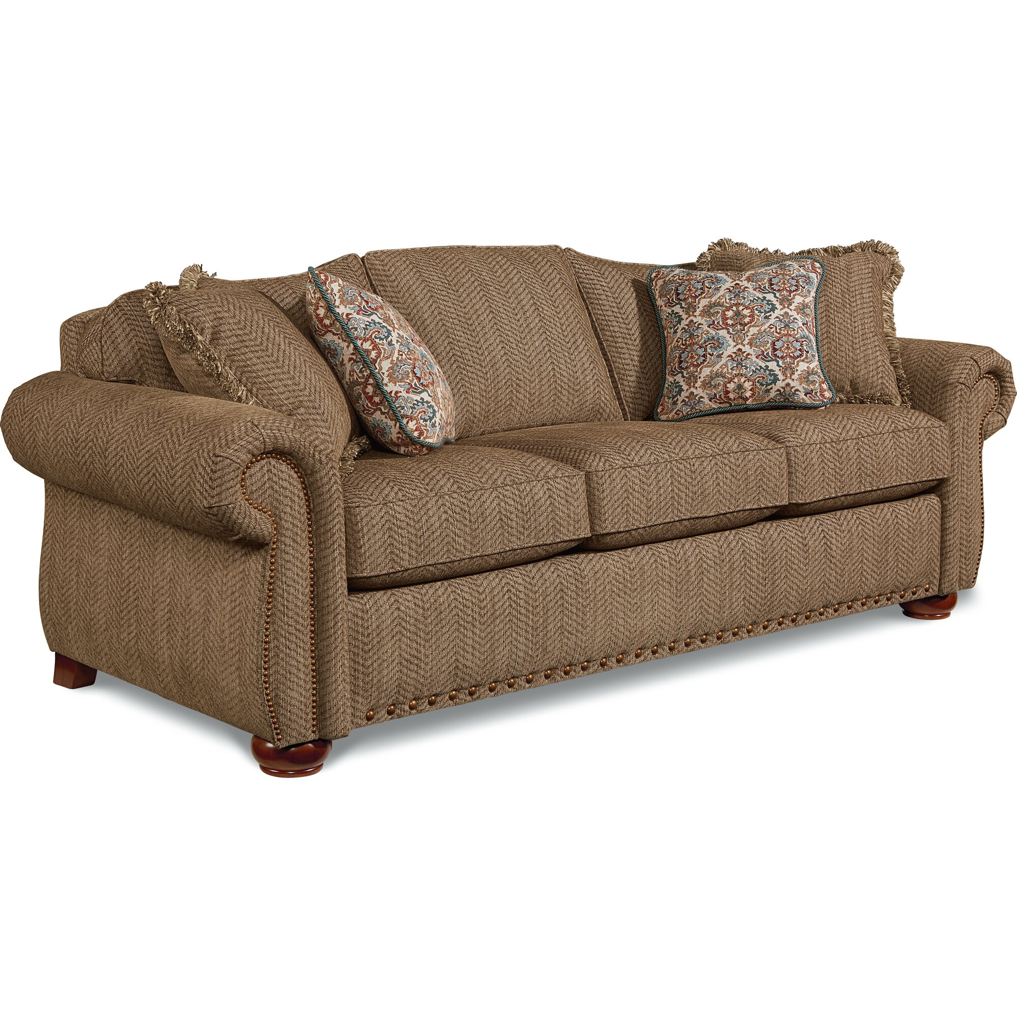 La Z Boy Sleeper Sofa Hayes Laztime Full Reclining Sofa