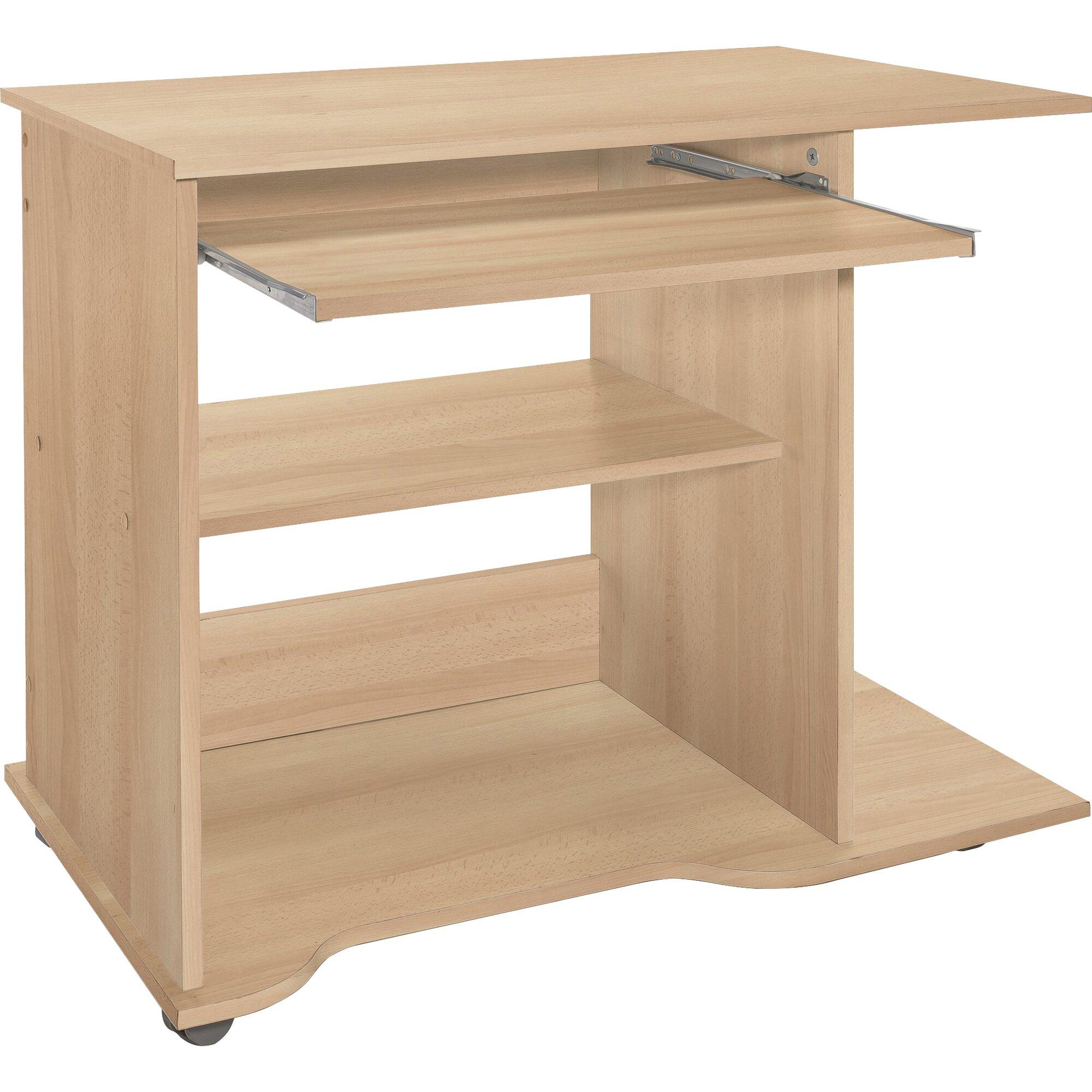 wilmes computertisch mit tastaturauszug bewertungen. Black Bedroom Furniture Sets. Home Design Ideas
