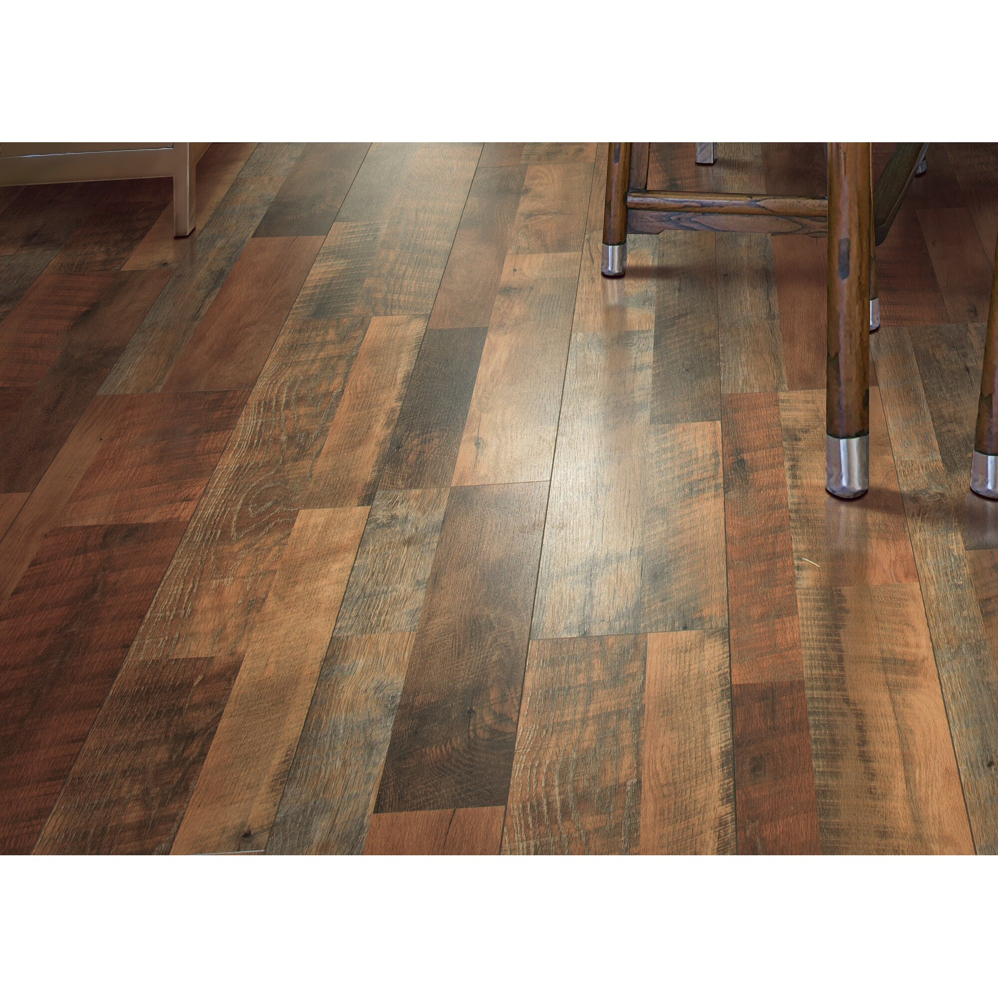 Oak Laminate Flooring oak 3 strip laminate Cashe Hills 8 X 47 X 787mm Oak Laminate