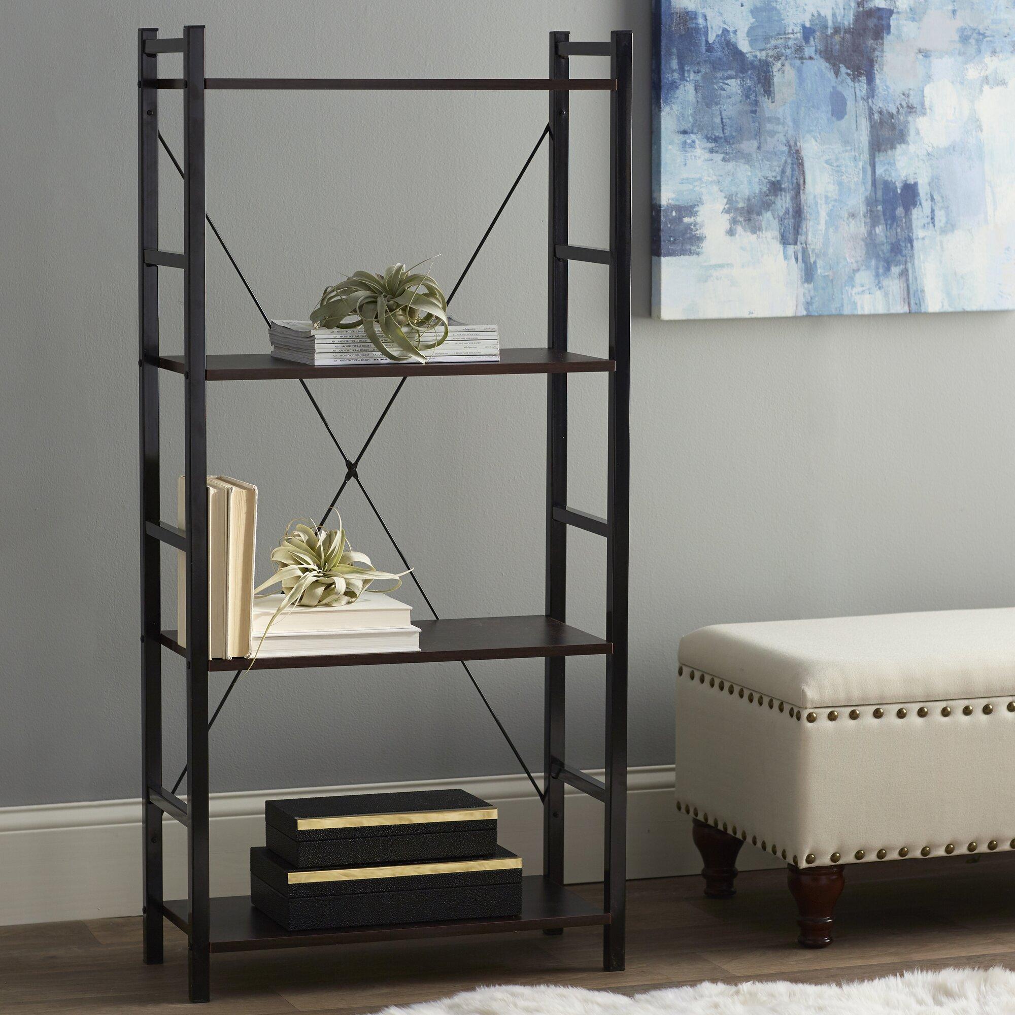 zipcode design 55 etagere bookcase reviews. Black Bedroom Furniture Sets. Home Design Ideas