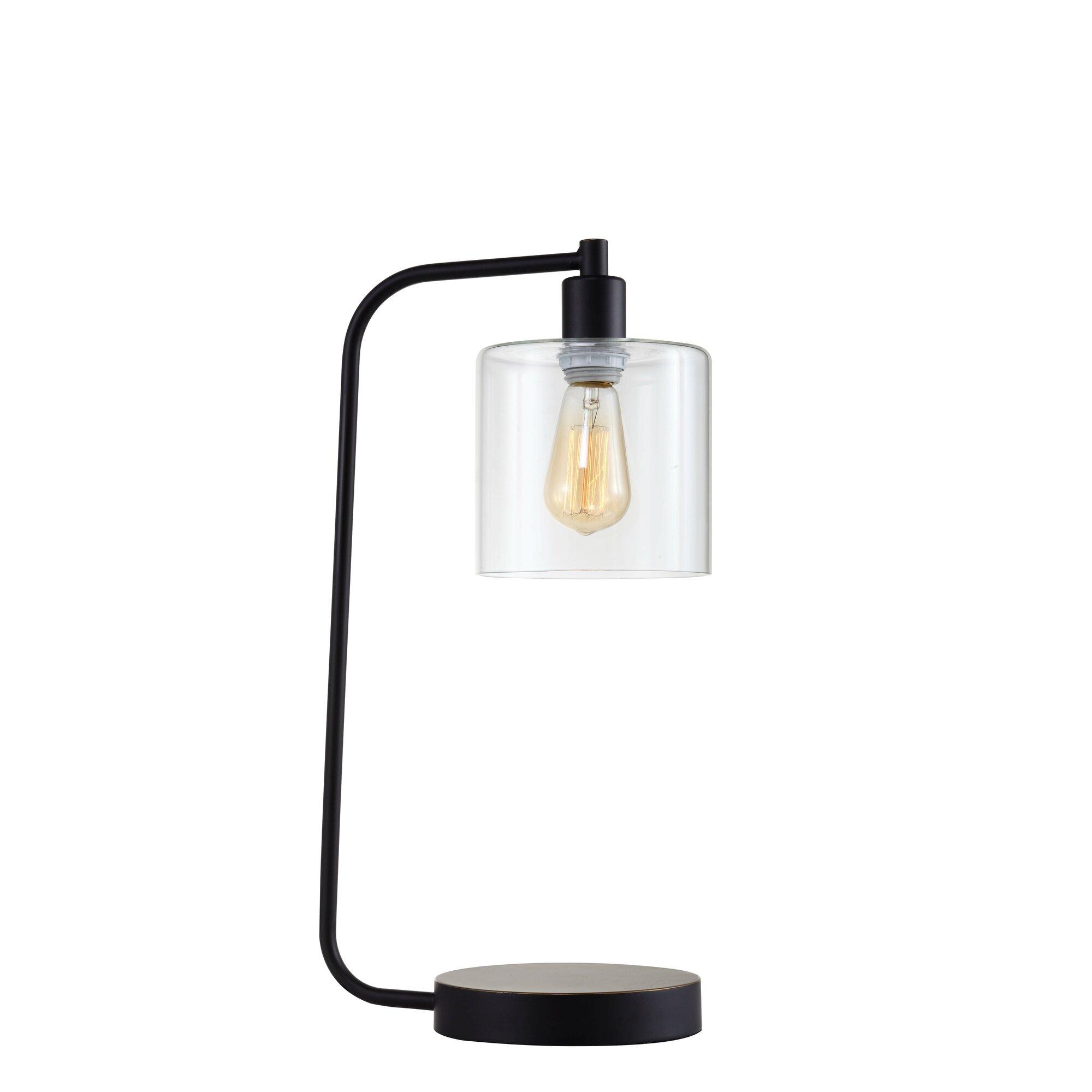 Major q industrial lantern 21 desk lamp for Wayfair industrial lamp