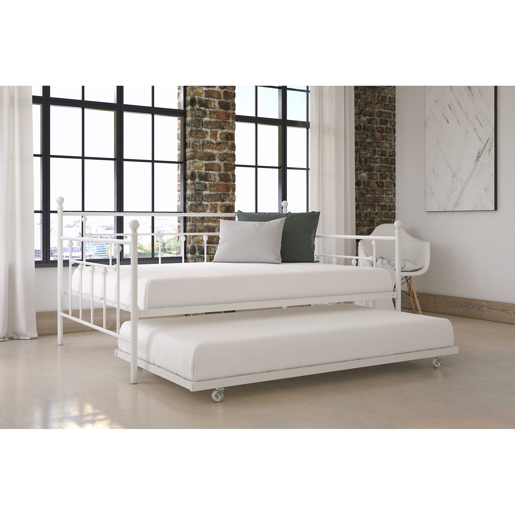 Mccarthy Daybed With Trundle Amp Reviews Allmodern