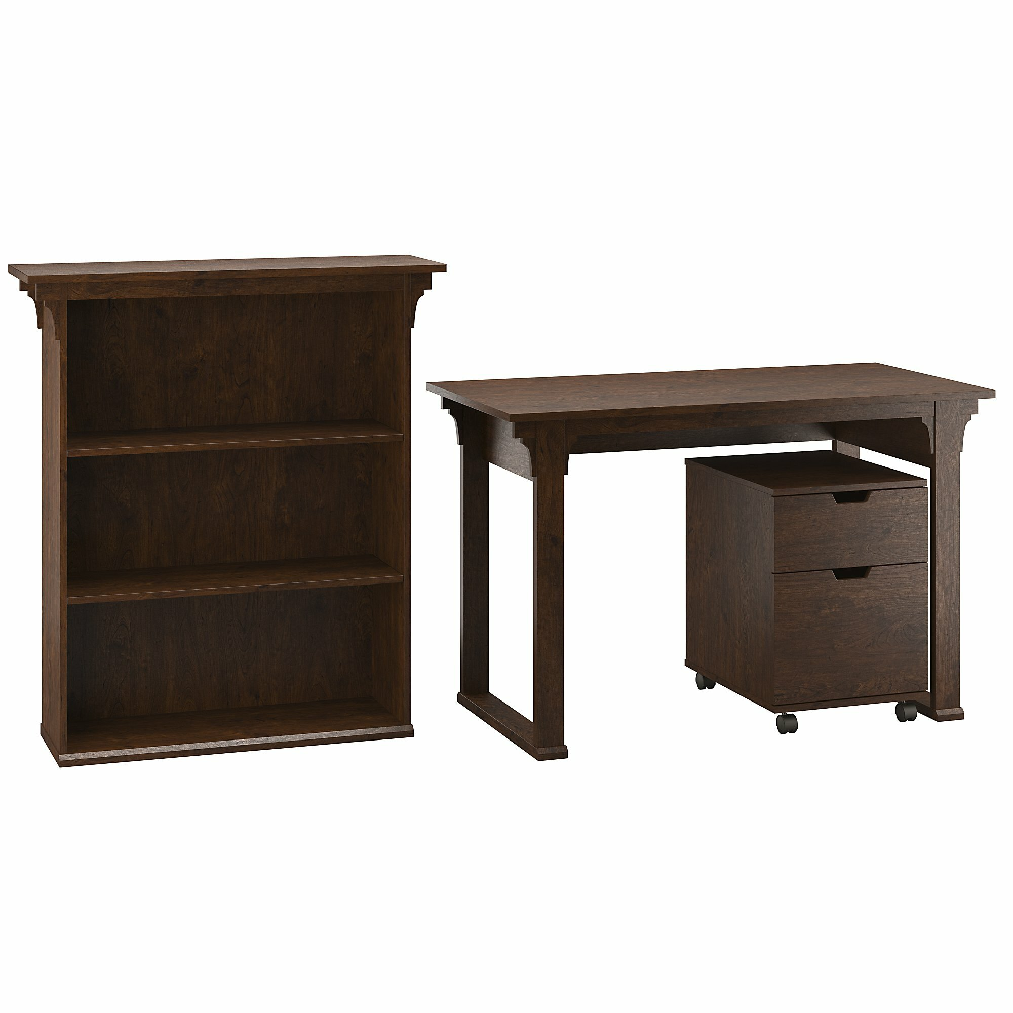 Loon peak aspen 3 piece desk office suite Peak office furniture