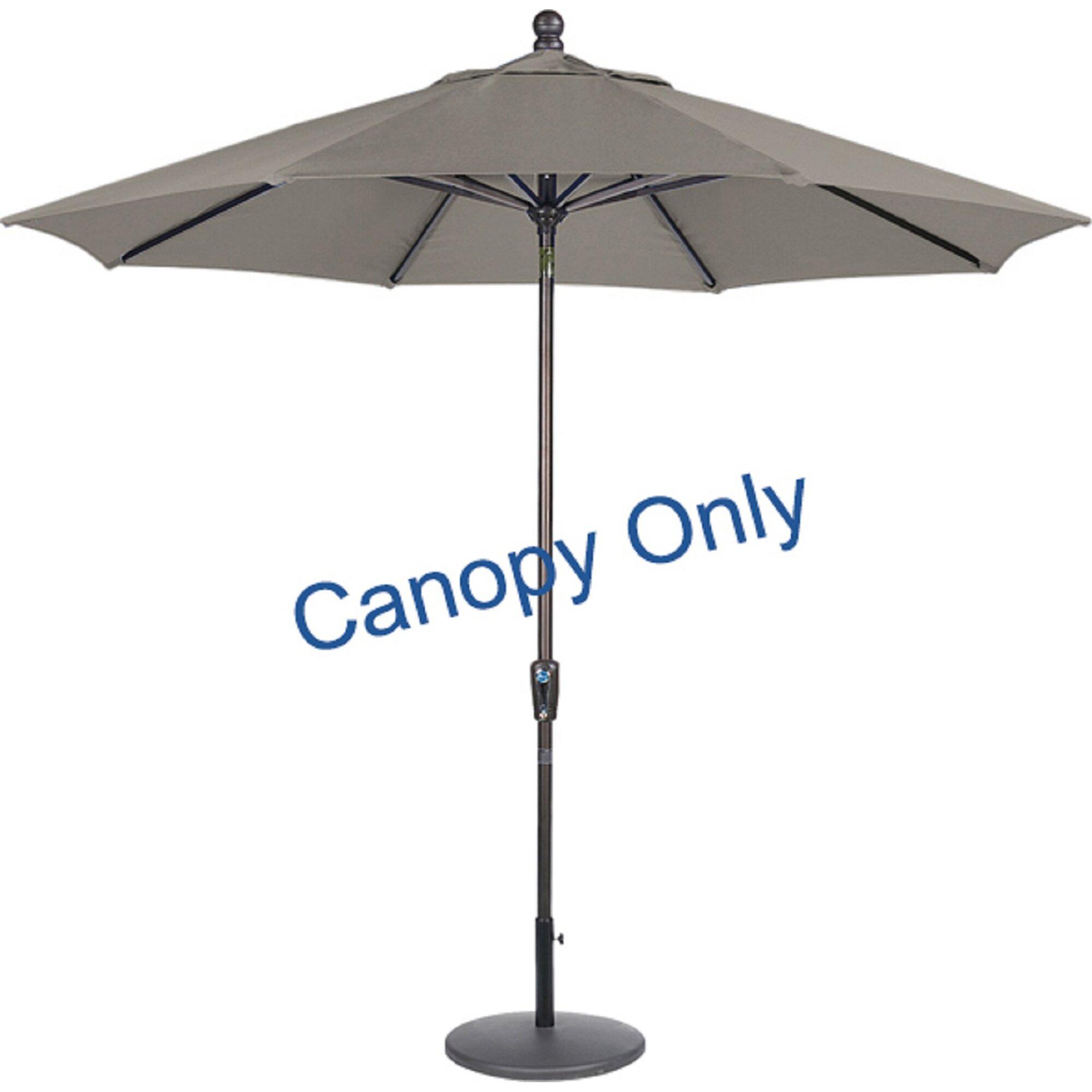 amauri outdoor living inc 9 39 sunbrella replacement canopy for market umbrella reviews wayfair. Black Bedroom Furniture Sets. Home Design Ideas