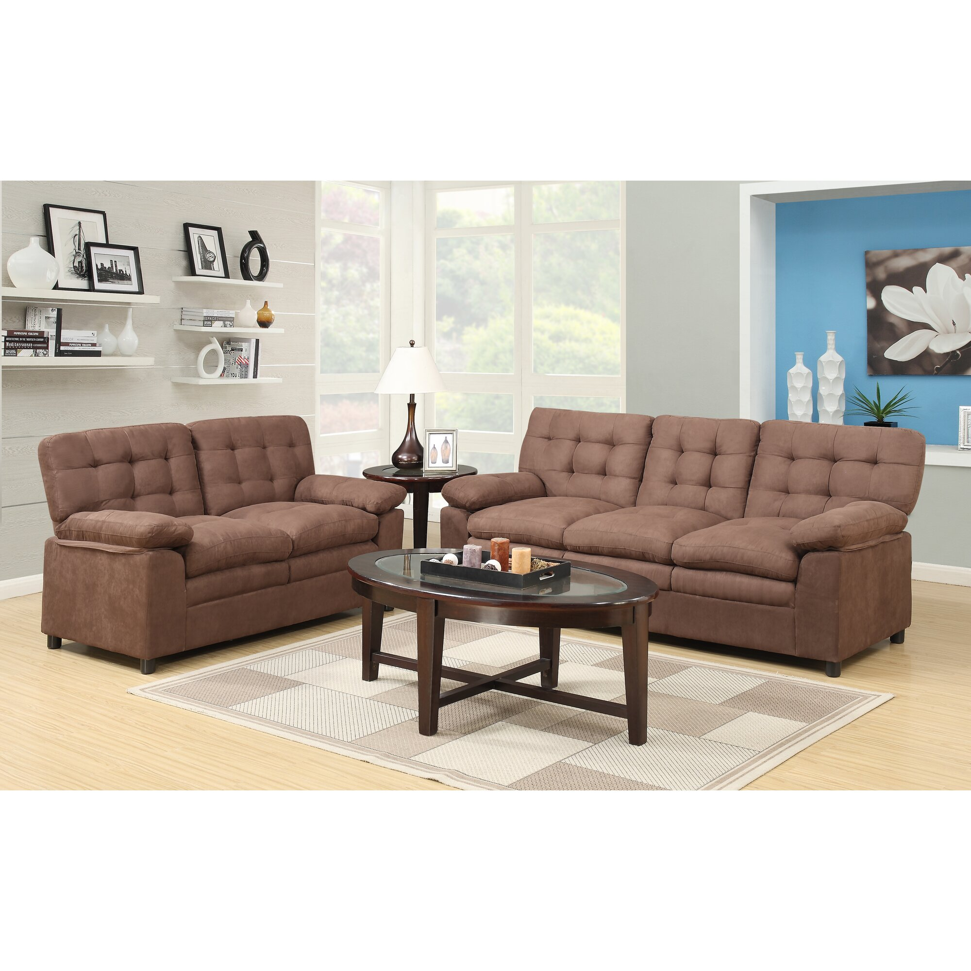Andover Mills Fitzgerald Sofa And Loveseat Set Reviews