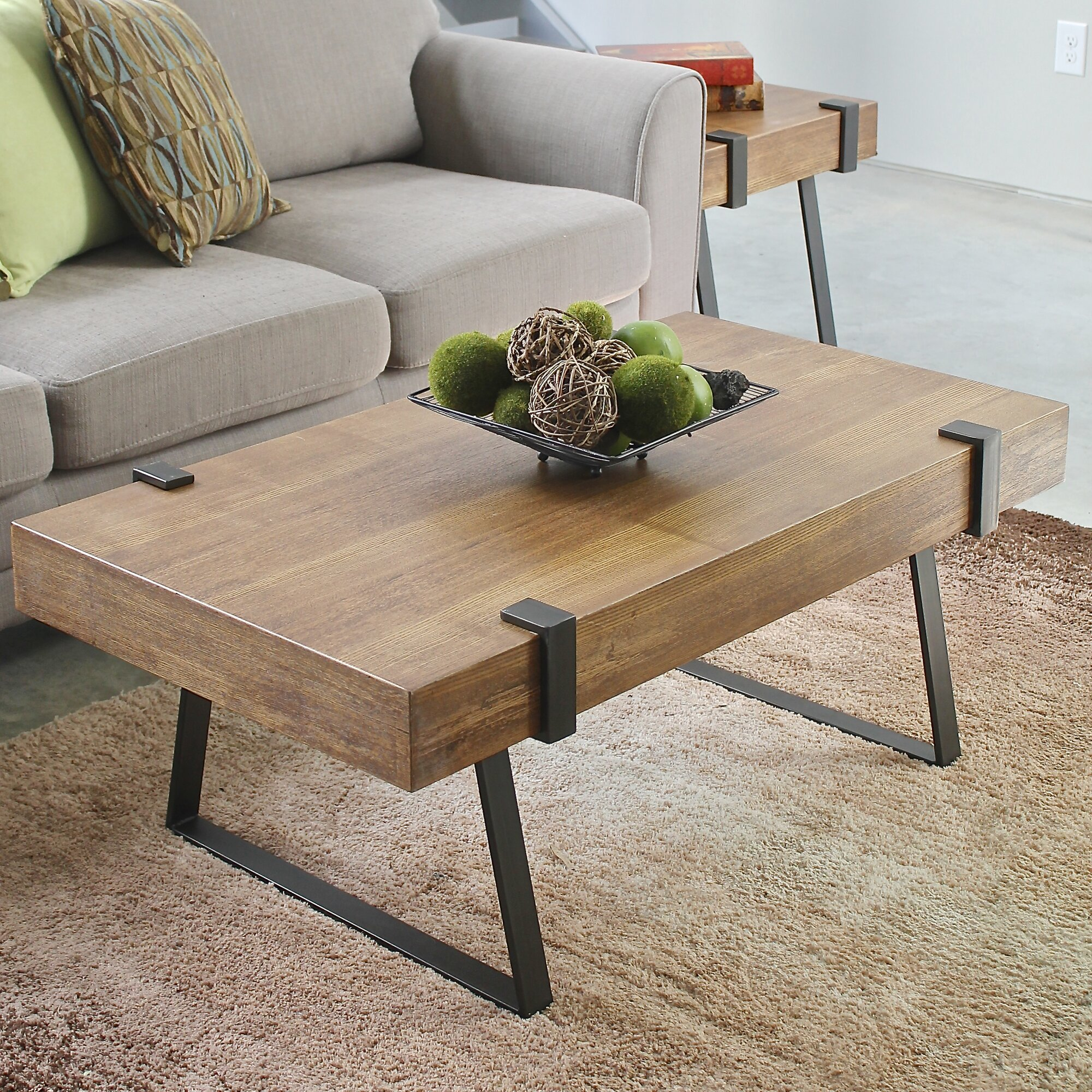 Laurel Foundry Modern Farmhouse Wisteria Indoor Coffee Table Reviews Wayfair