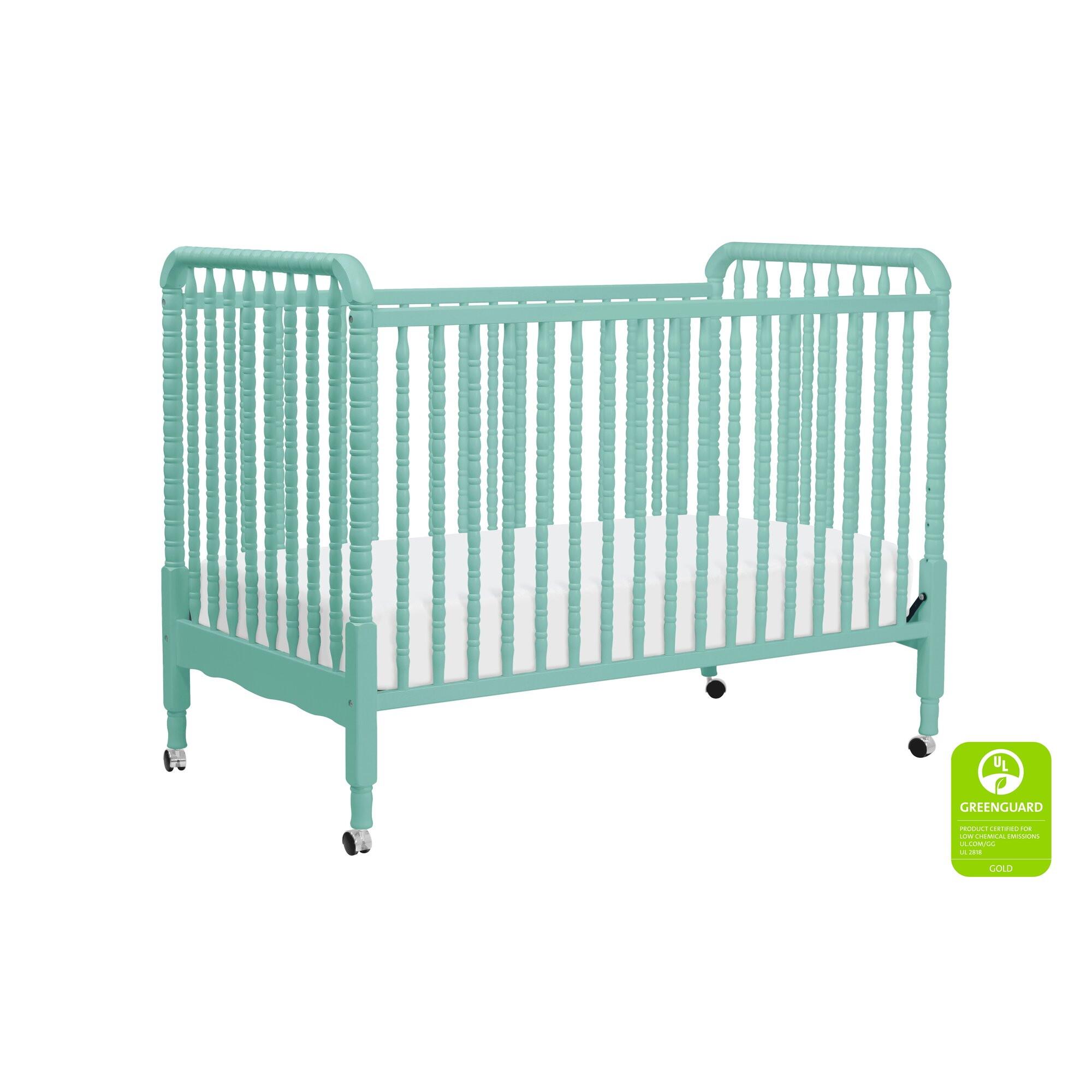Jenny Lind 3-in-1 Convertible Crib with Conversion Kit ...