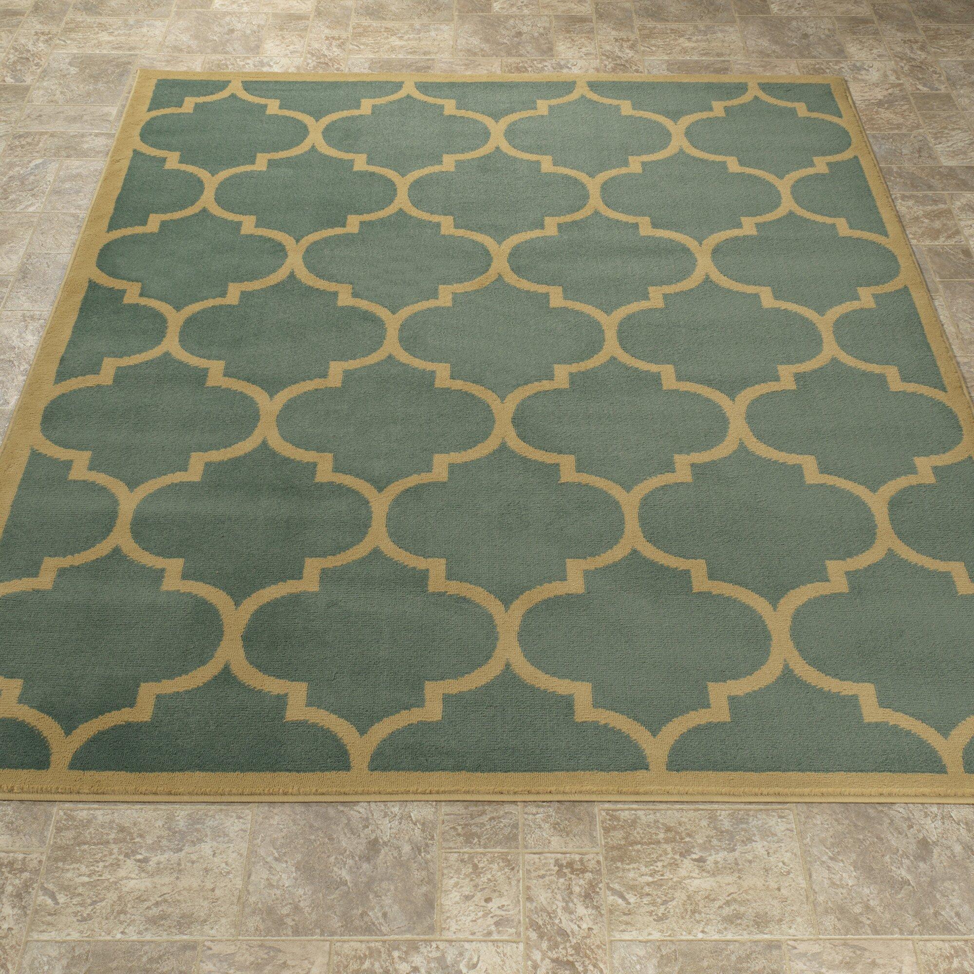 ottomanson paterson sage green area rug reviews. Black Bedroom Furniture Sets. Home Design Ideas