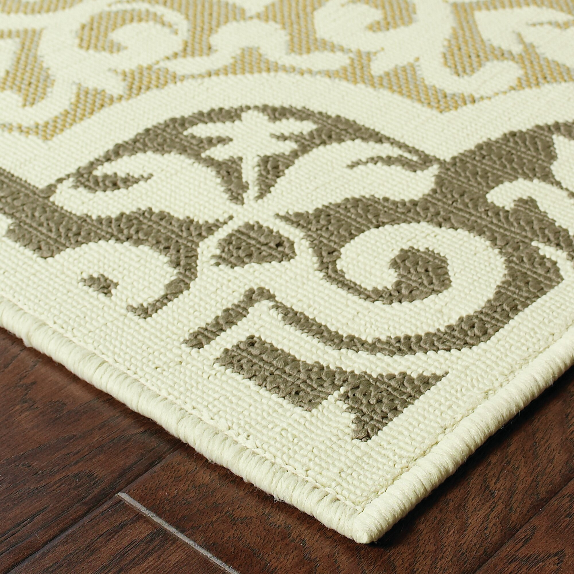 Colton Gray Indoor Outdoor Area Rug & Reviews