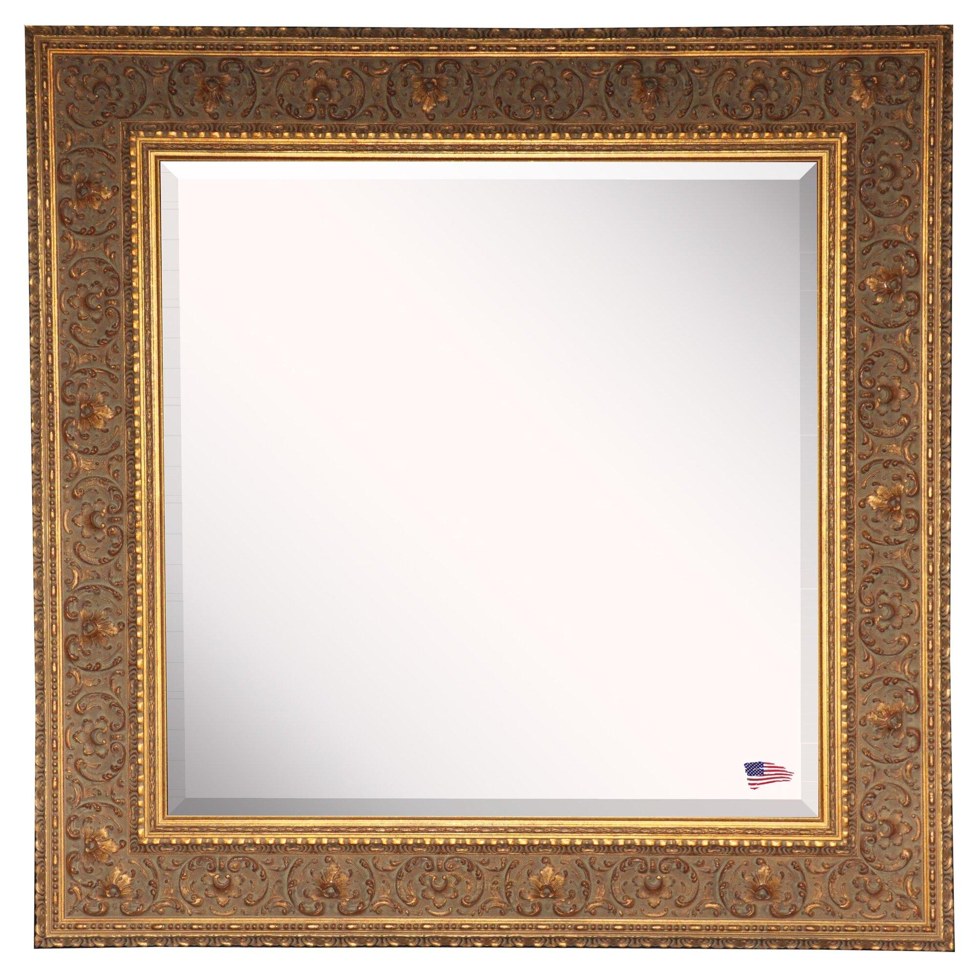 Astoria Grand Gold Hued Opulent Wall Mirror Amp Reviews