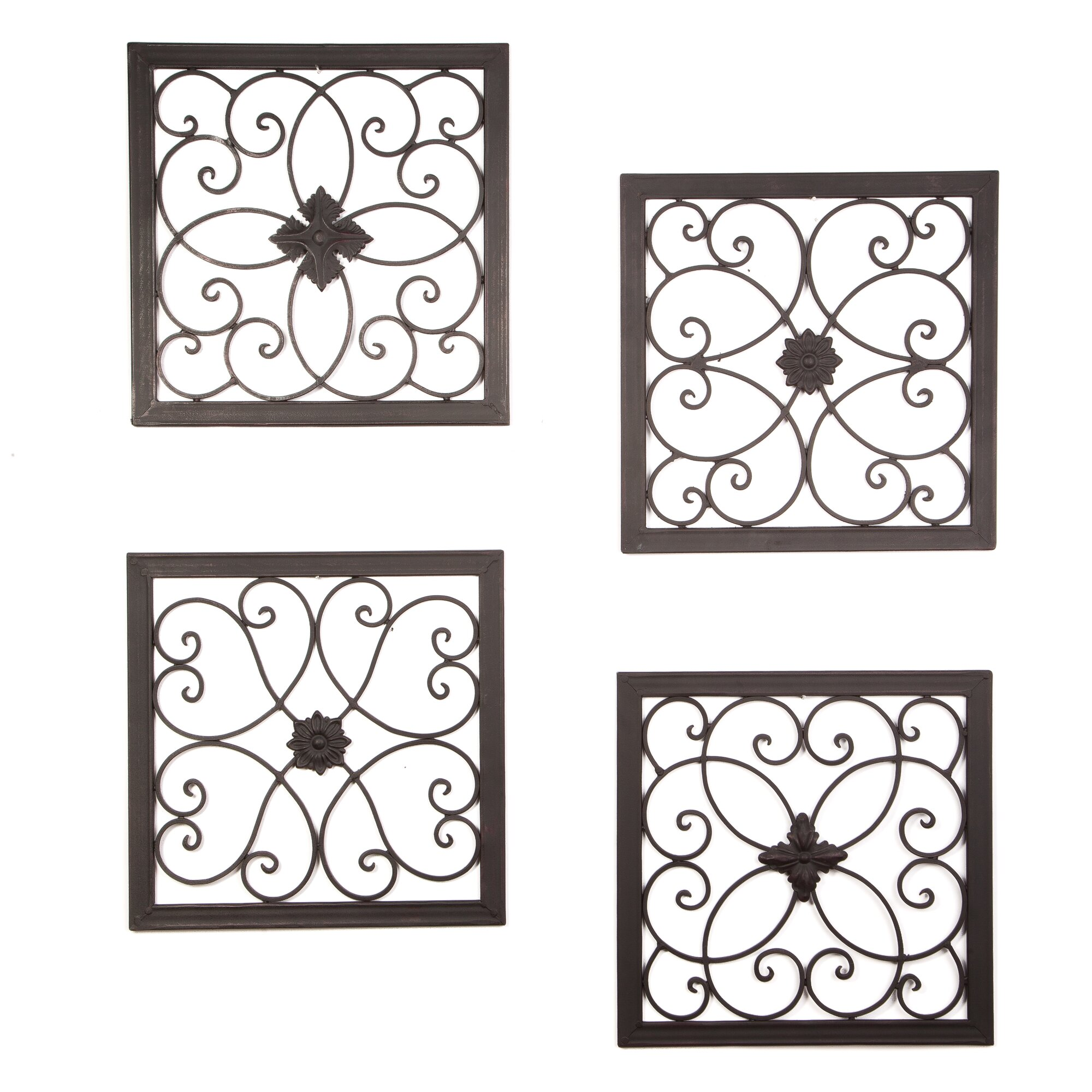 4 Piece Giolla Wall Decor Set : Byronanthonyhome piece madeline wall d?cor set wayfair