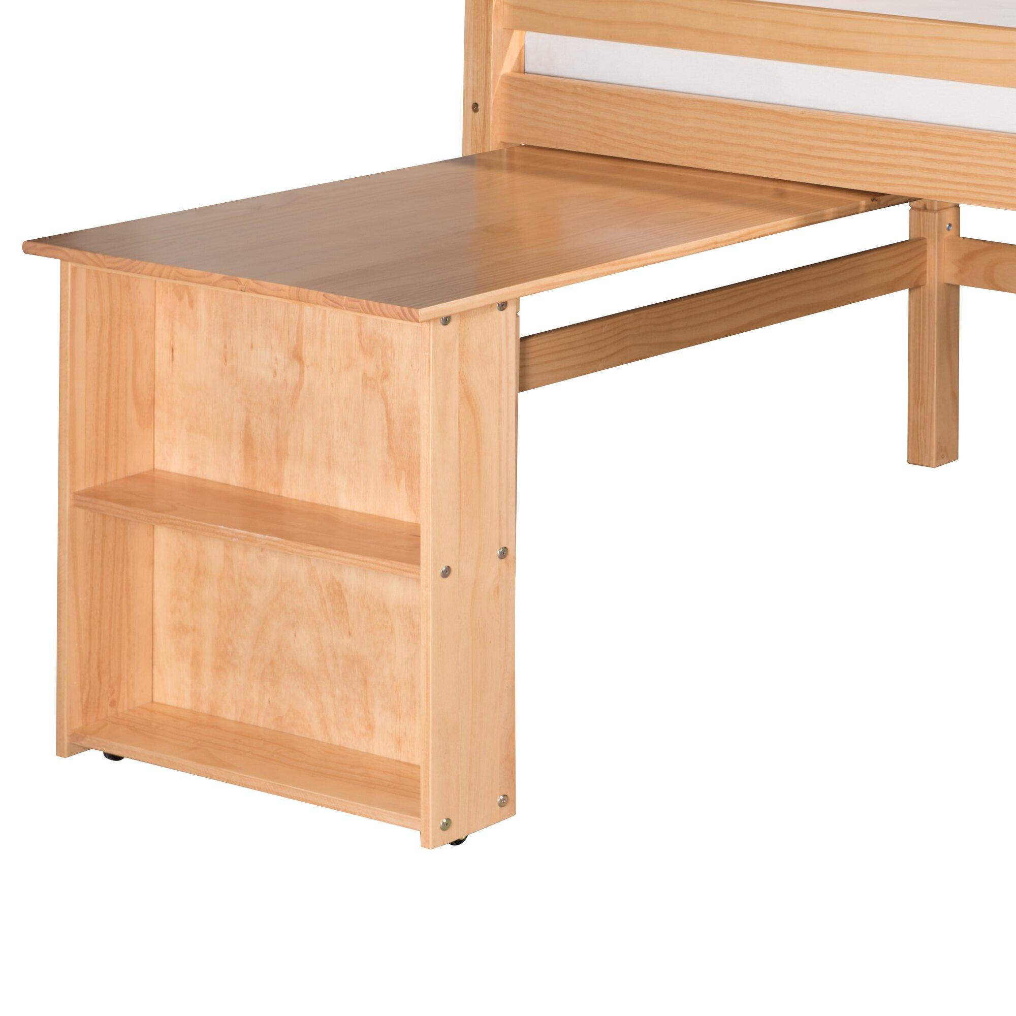 Viv Rae Isabelle Low Loft Bed Retractable Desk Amp Reviews