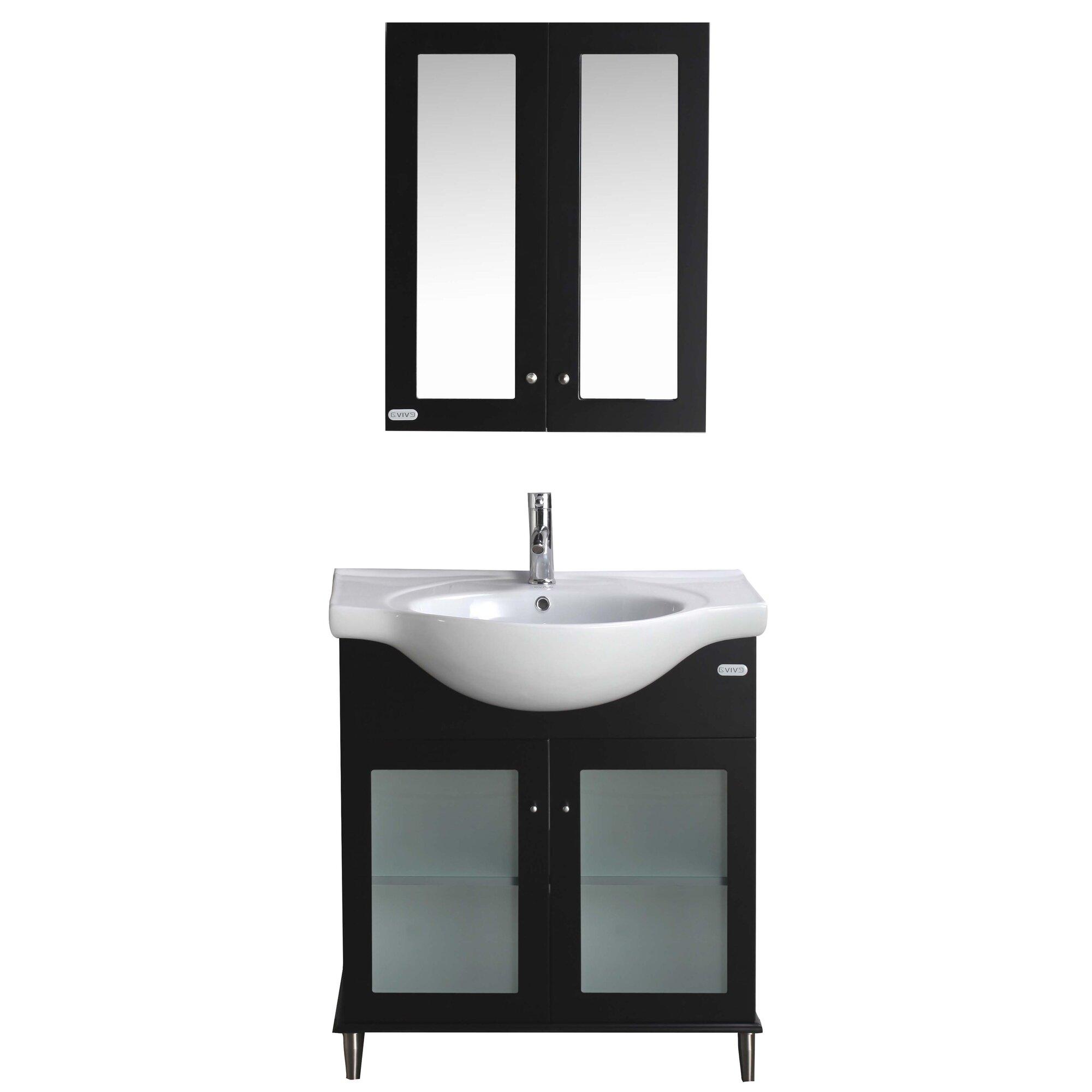 """Eviva Tux 24"""" Single Bathroom Vanity Set"""