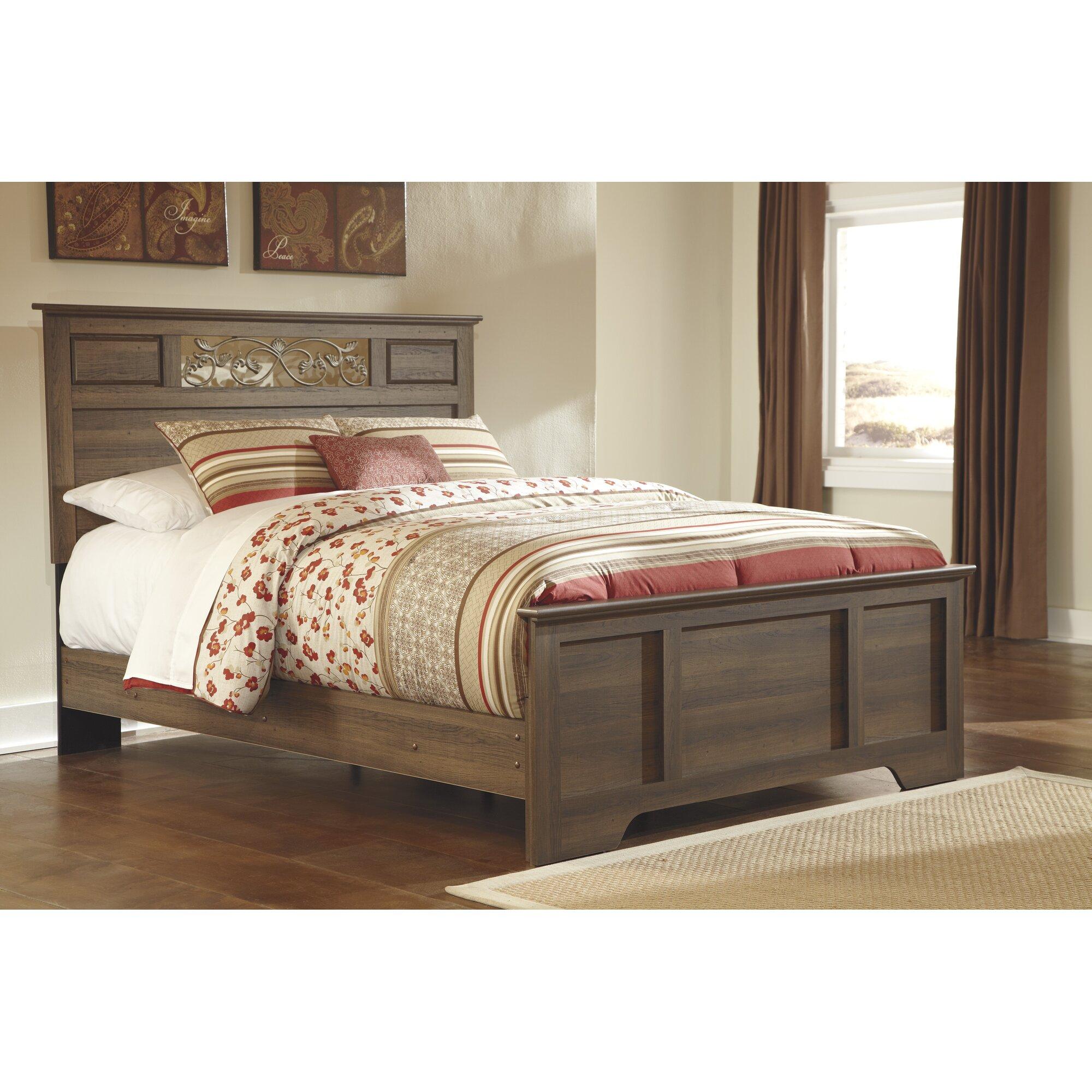 August Grove Amalia Queen Panel Customizable Bedroom Set