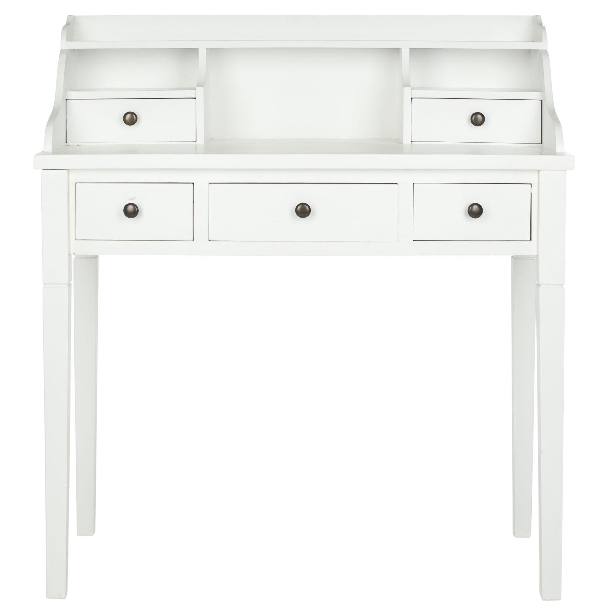 beachcrest home olavo writing desk reviews wayfair. Black Bedroom Furniture Sets. Home Design Ideas