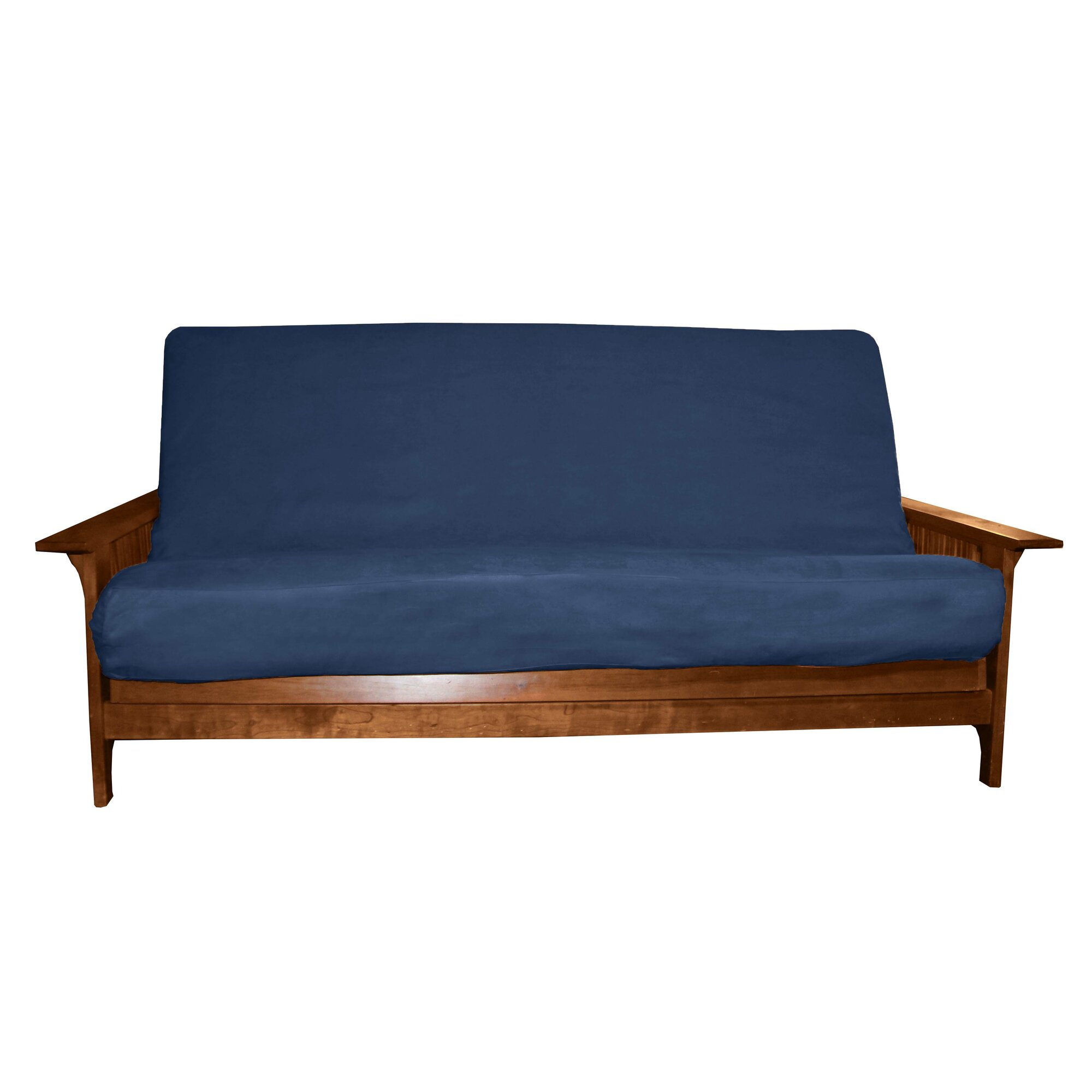 Red Barrel Studio Solid Polyester Futon Slipcover