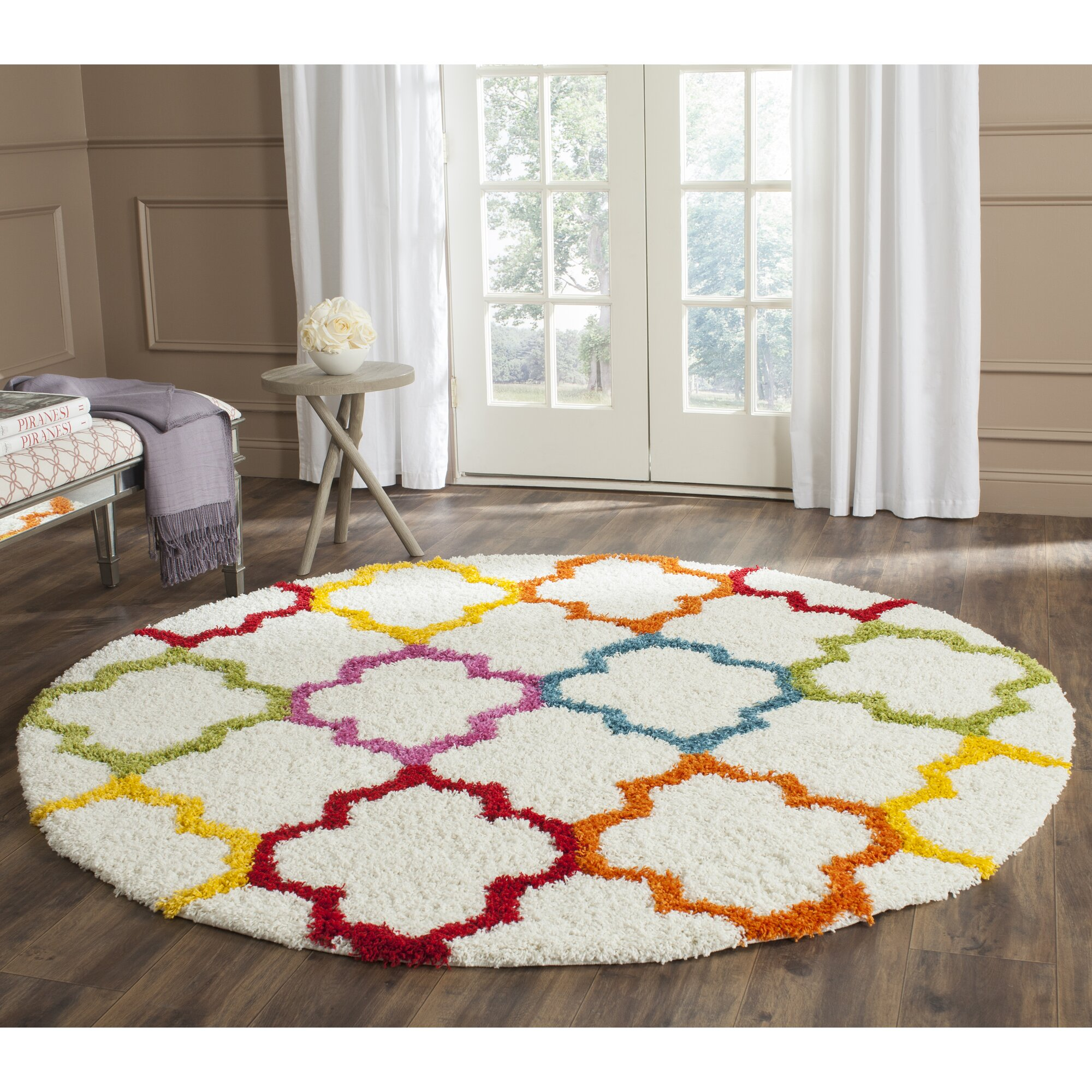 Sasha Rainbow Kids Area Rug Amp Reviews Allmodern