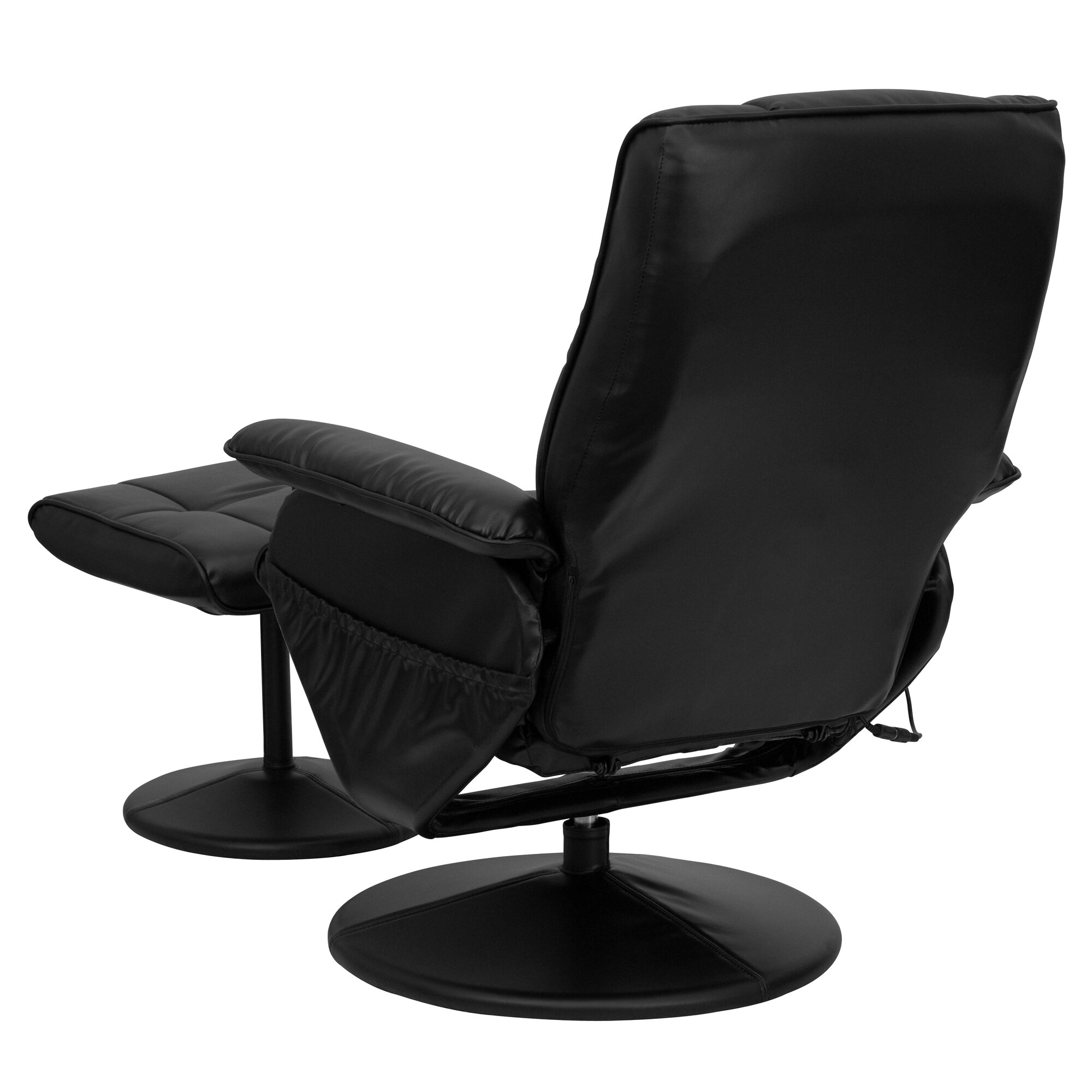 Zipcode™ Design Leather Heated Reclining Massage Chair with