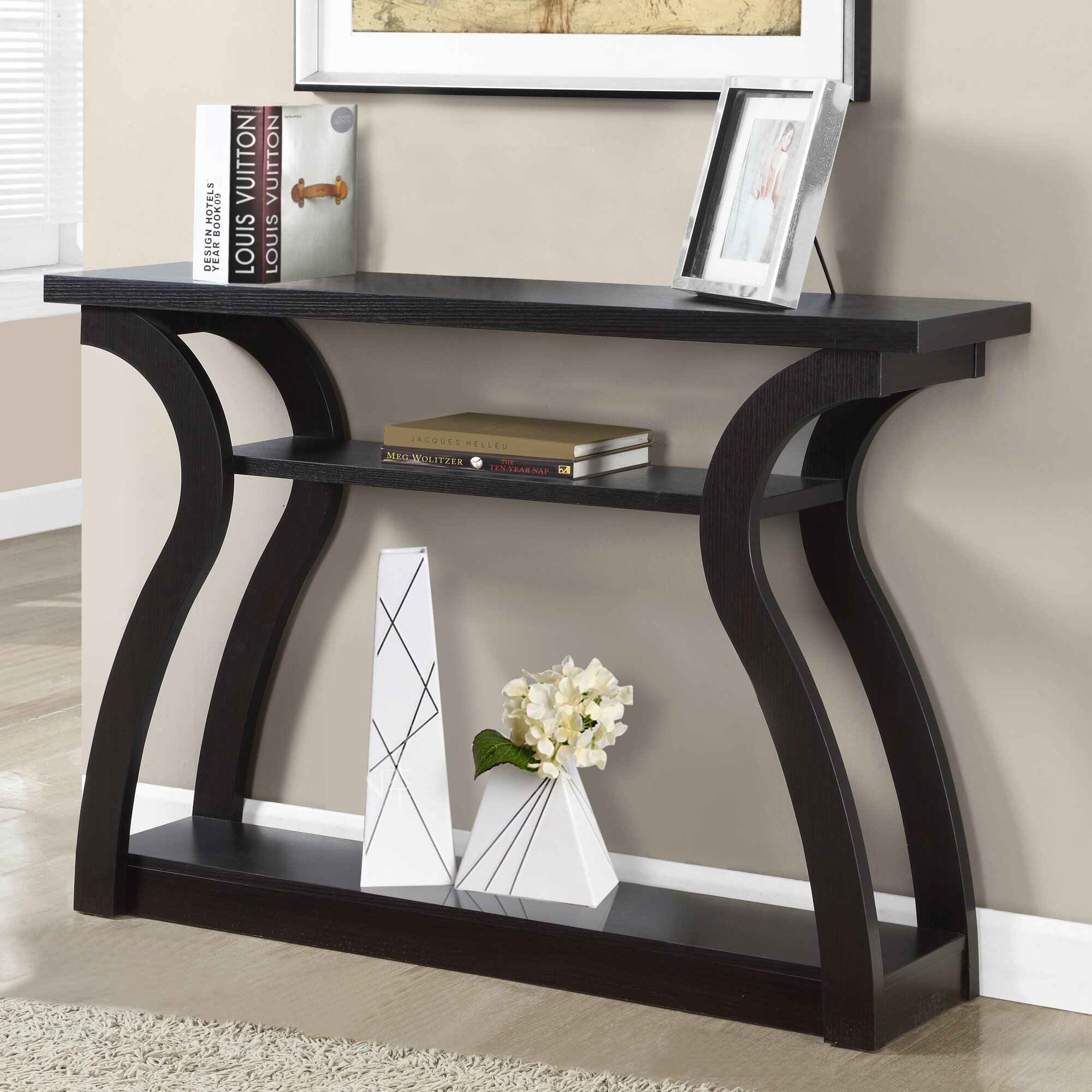 Contemporary console table - Gwyneth Console Table