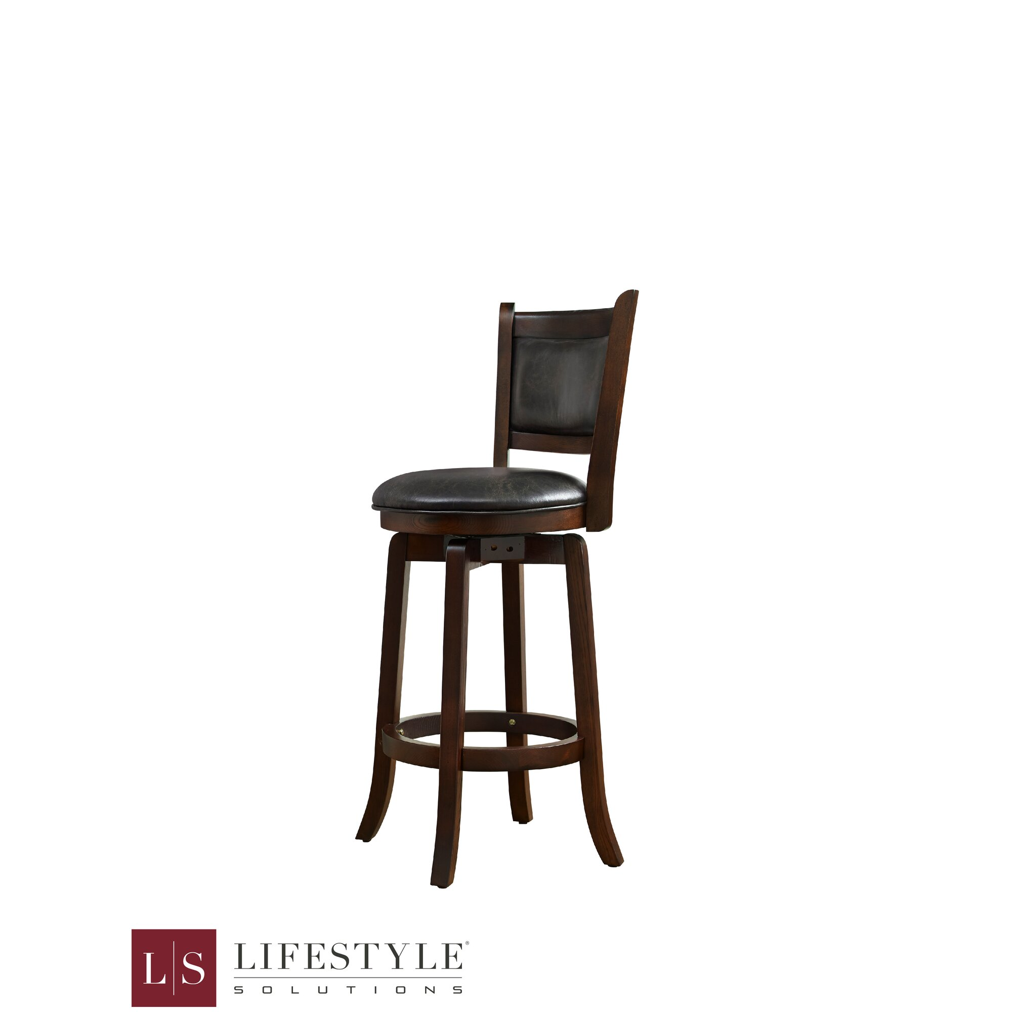 Alcott Hill Leatherman 26 Quot Bar Stool With Cushion Wayfair Ca