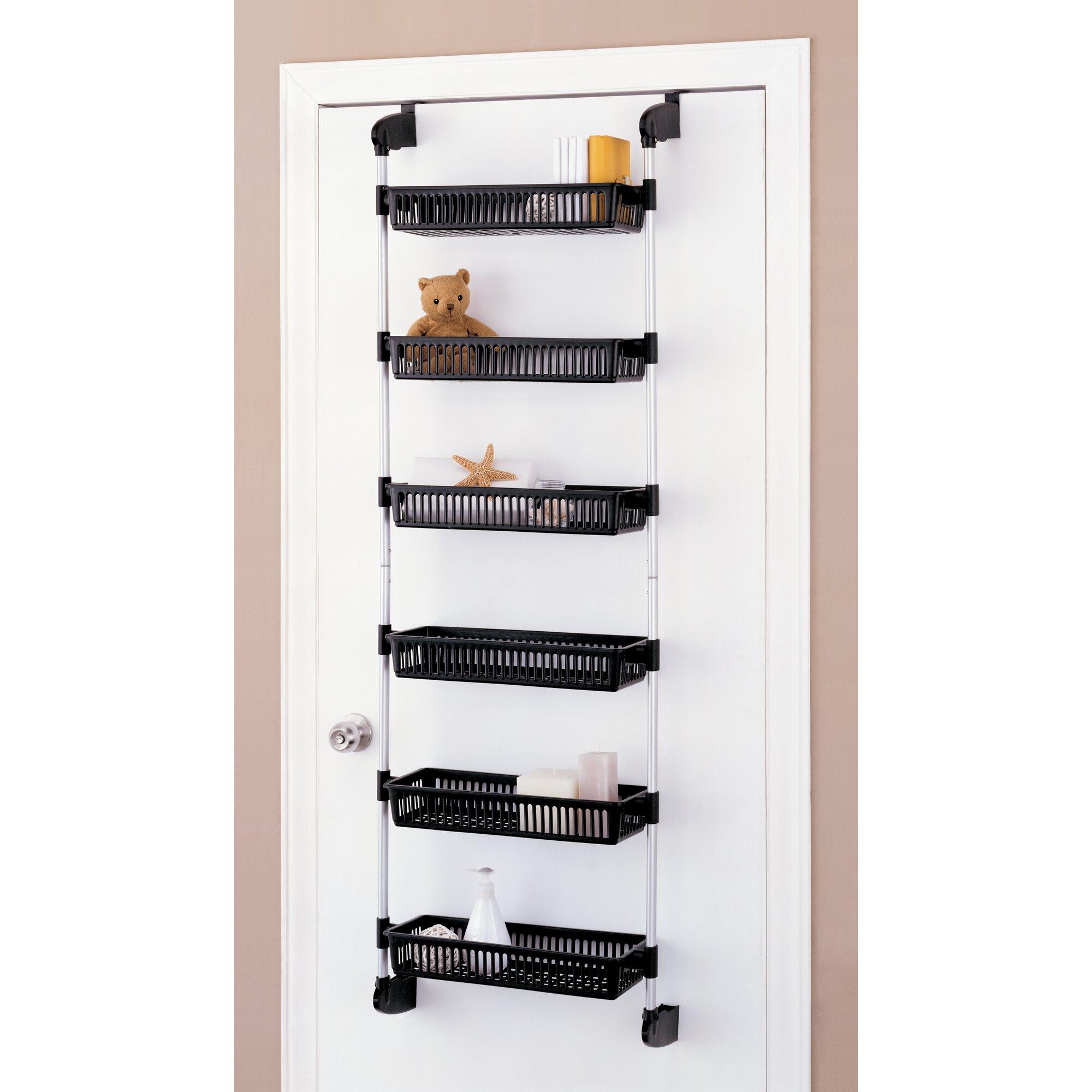 Rebrilliant Overdoor 6 Shelf Cabinet Door Organizer & Reviews ...
