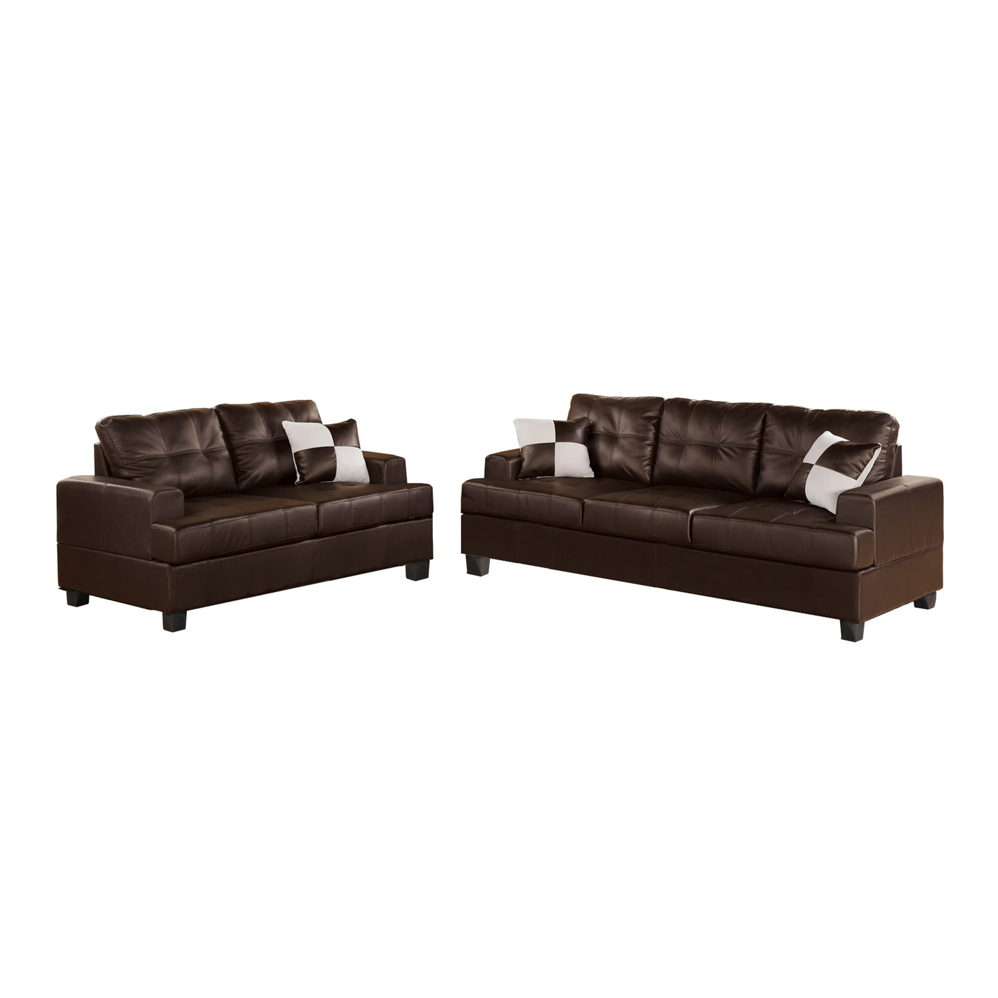 Cavallo Sofa and Loveseat Set & Reviews