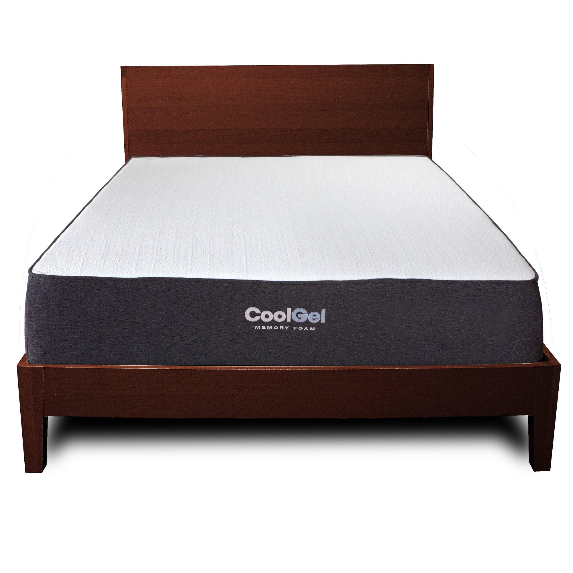 anew edit 10 5 medium firm gel memory foam mattress reviews. Black Bedroom Furniture Sets. Home Design Ideas