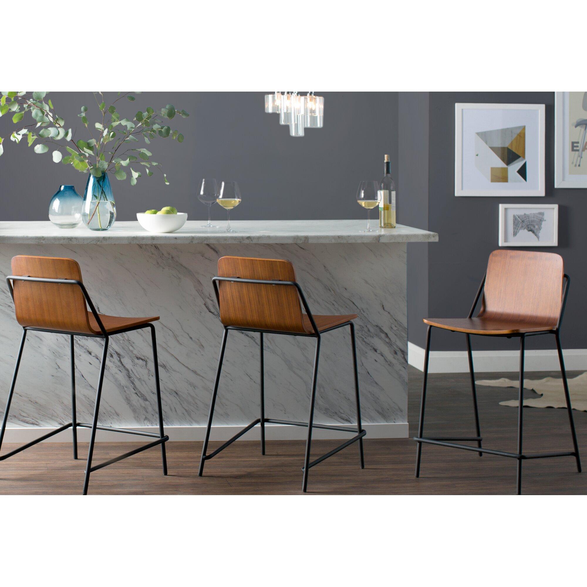 M A D Furniture Sling 24 Quot Bar Stool Amp Reviews Wayfair