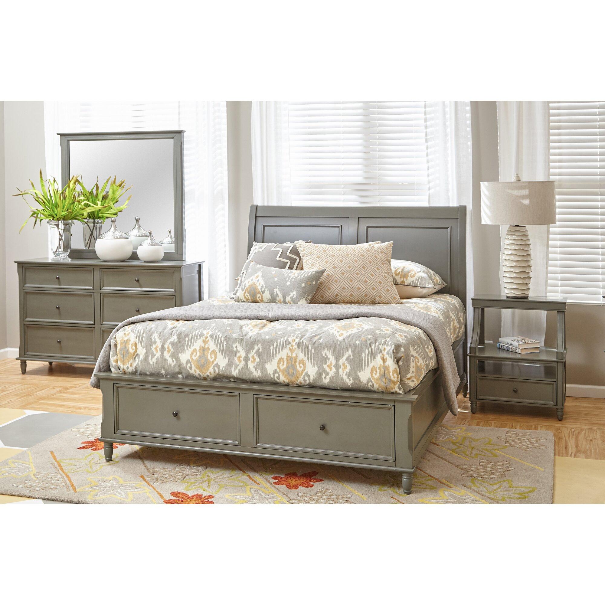 beatrice queen panel customizable bedroom set reviews birch lane