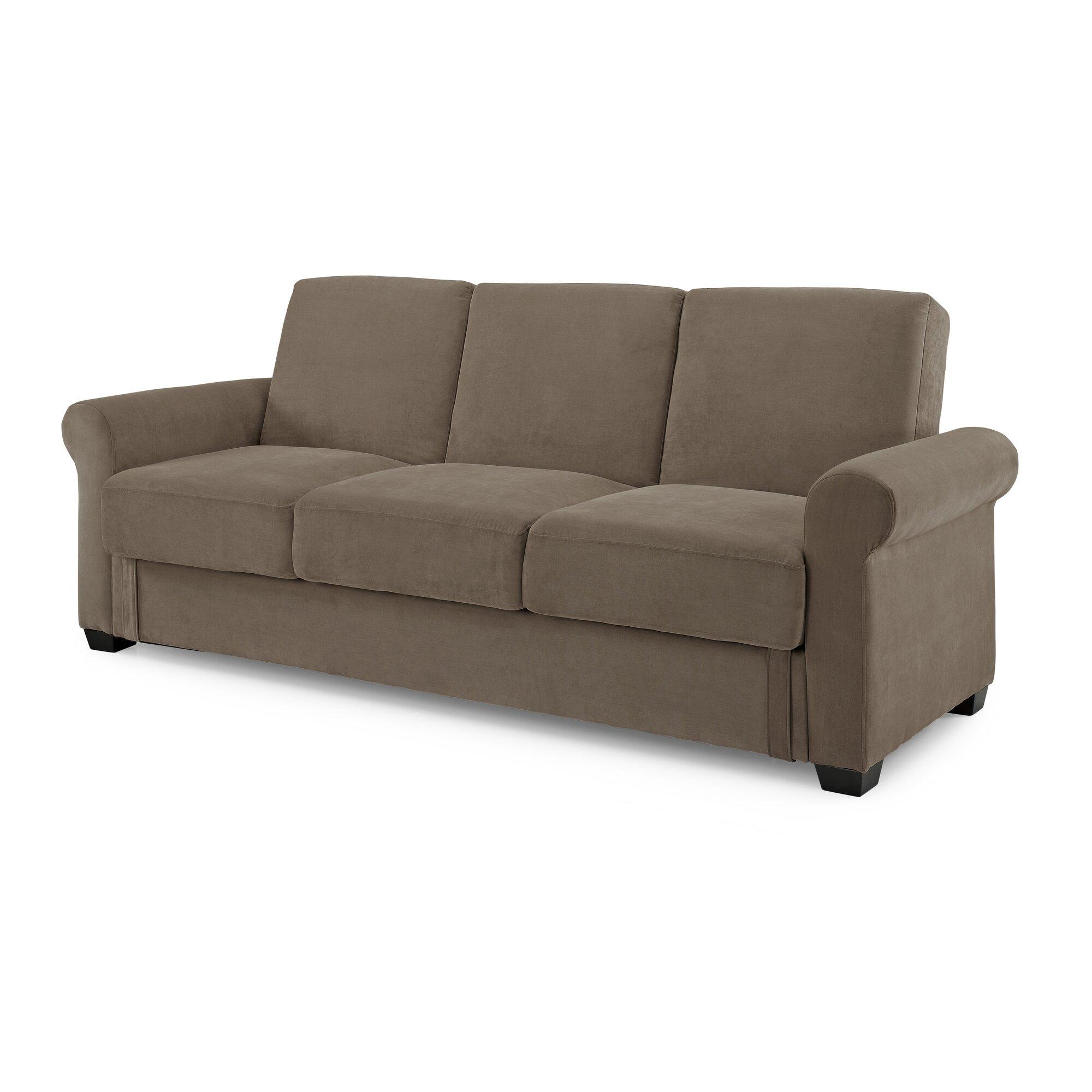 San Juan Click Clack Sofa With Cover Taupe Refil Sofa