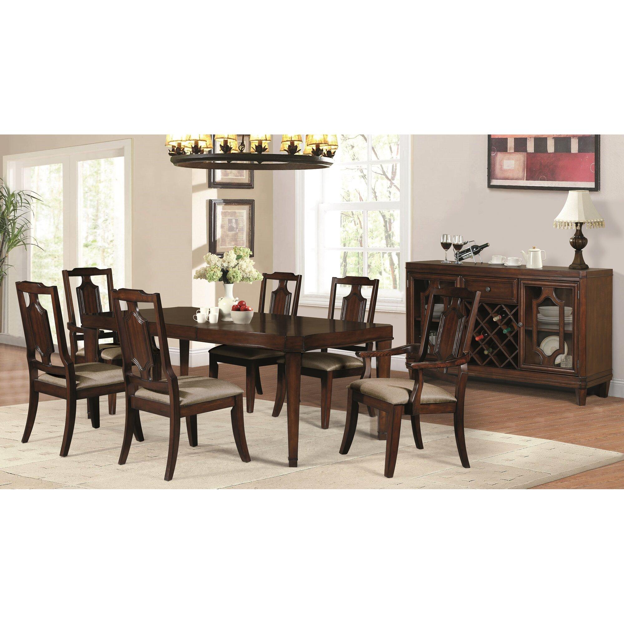 Astoria Grand Albon Traditional Buffet Table Wayfair Ca