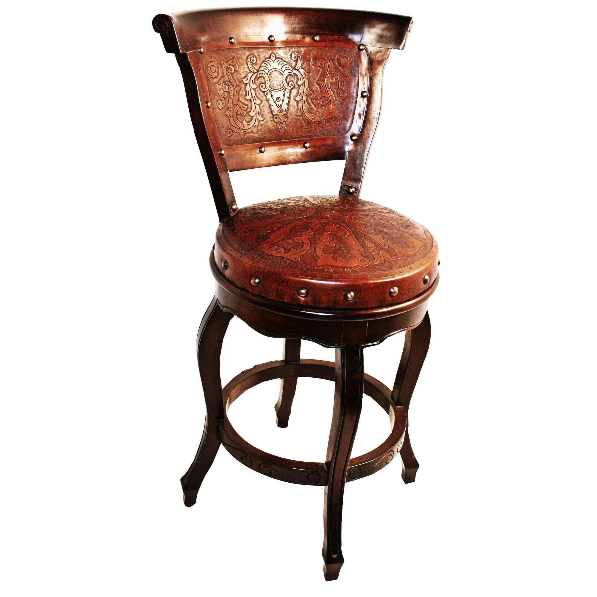 New World Trading Colonial 30 Quot Swivel Bar Stool Amp Reviews