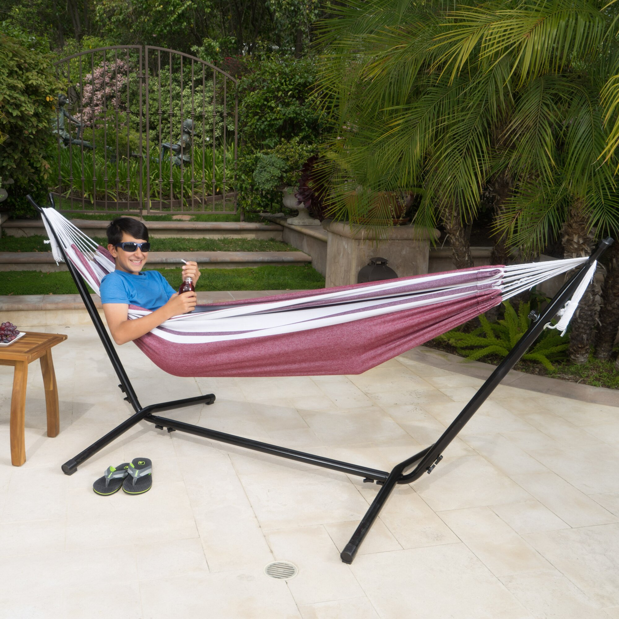 Haywood Outdoor Portable Hammock With Stand & Reviews