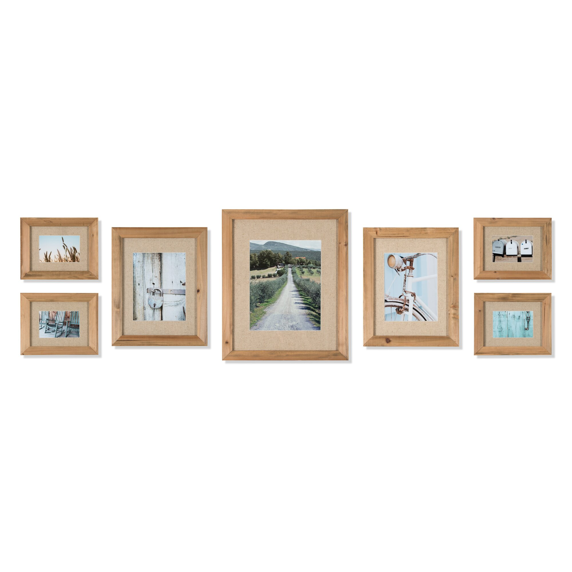 7 Piece Gallery Picture Frame Set Joss Amp Main