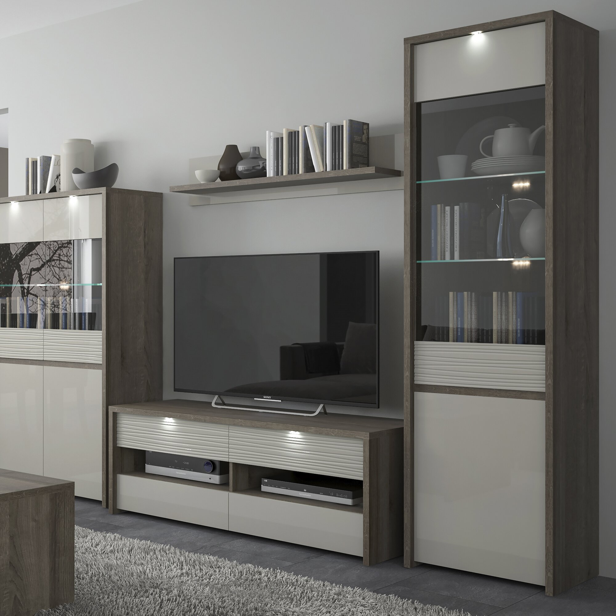 home loft concept vitrine aspen. Black Bedroom Furniture Sets. Home Design Ideas