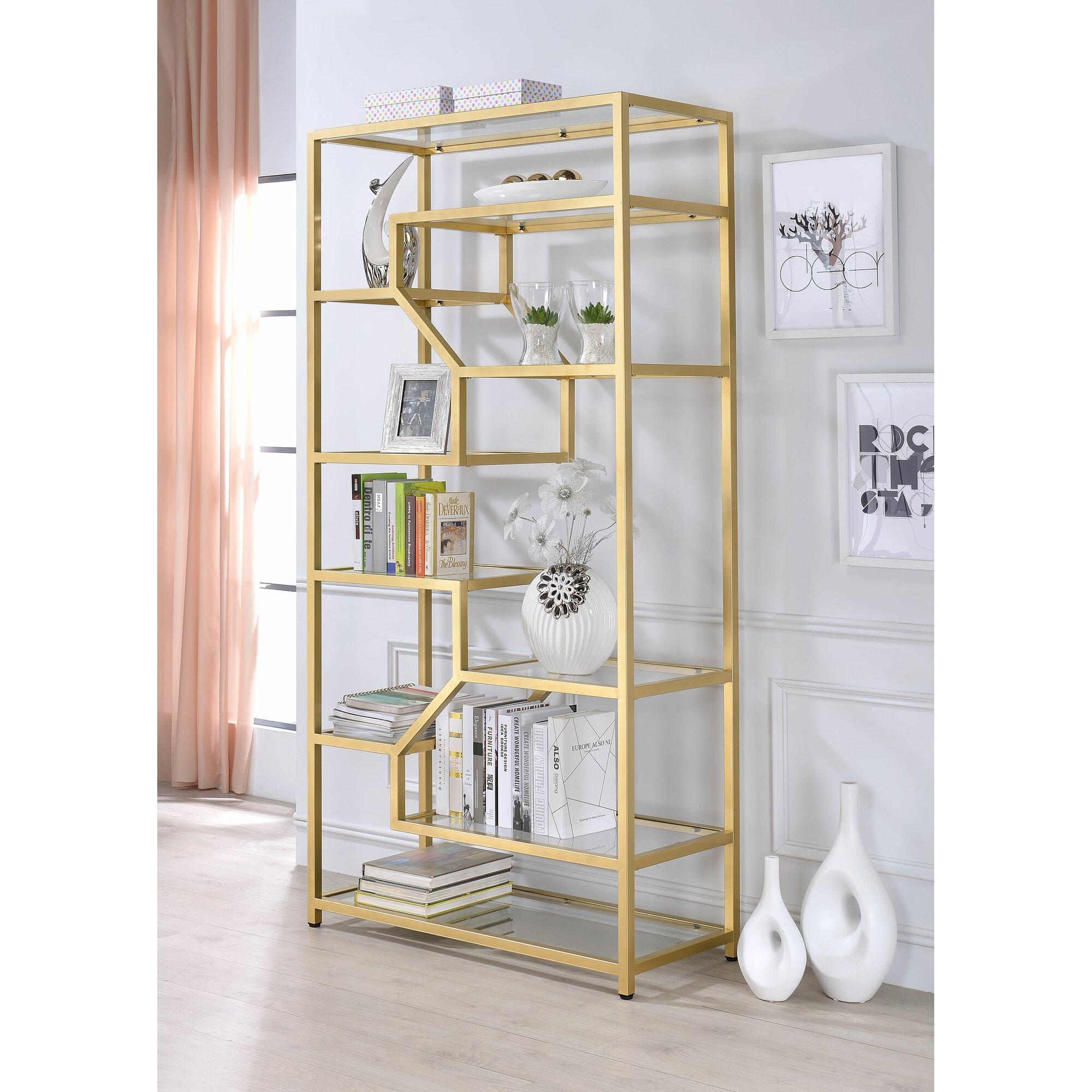 Alida cube 77 etagere bookcase joss main - Etagere cube modulable ...