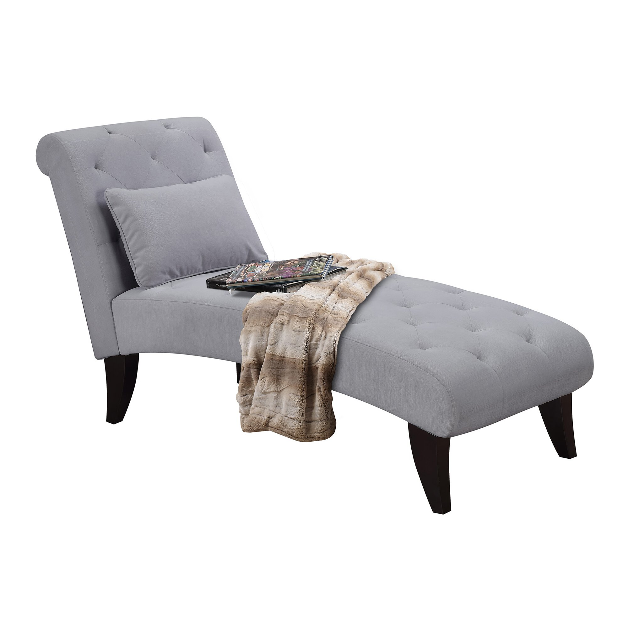 Gideon ashley chaise lounge reviews joss main for Chaise lounge ashley