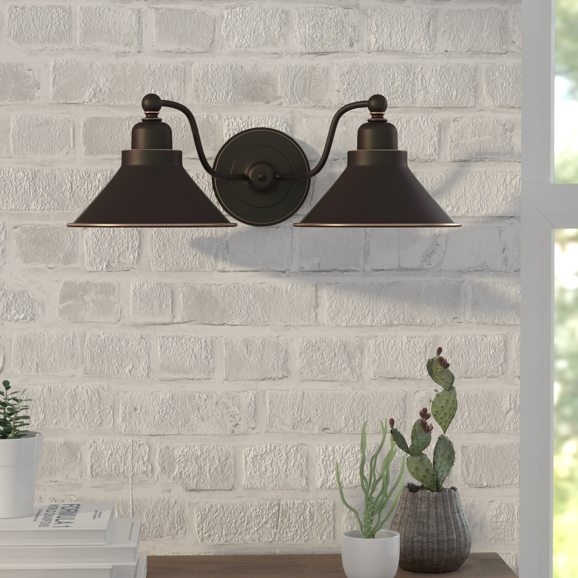 Mission Wall Sconce With Switch : Trent Austin Design Schaff 2-Light Wall Sconce in Mission Dust Bronze & Reviews Wayfair