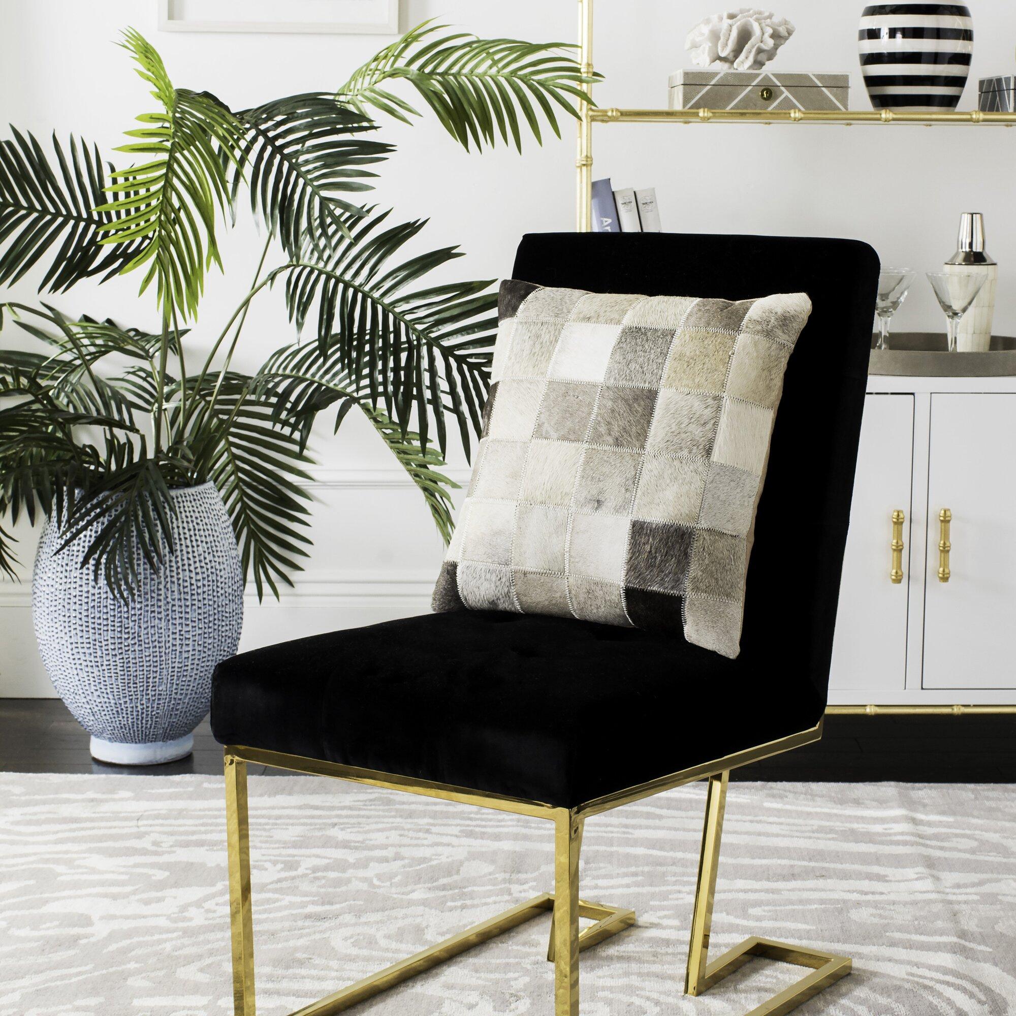 Mercury Row Modern Cowhide Pillow & Reviews Wayfair