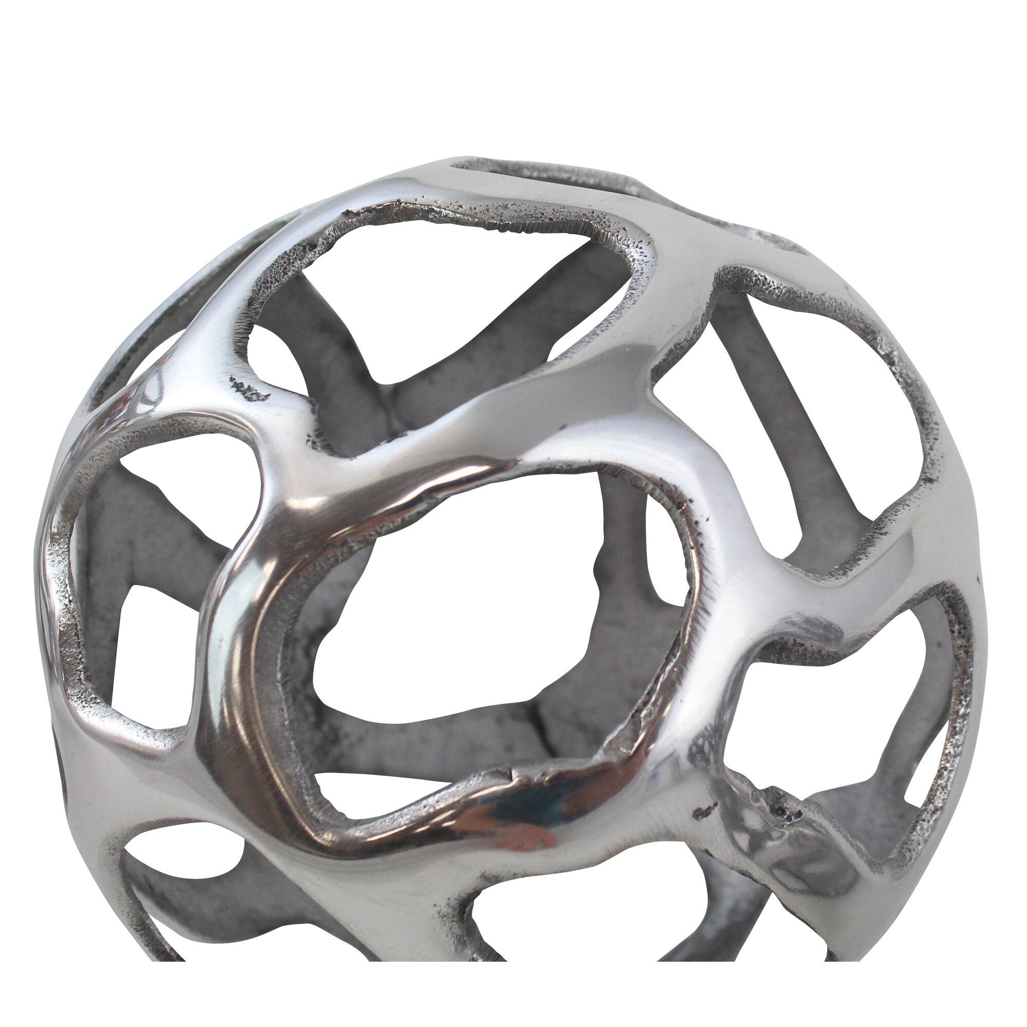 3 piece decorative orbs sculpture set - Decorative Orbs