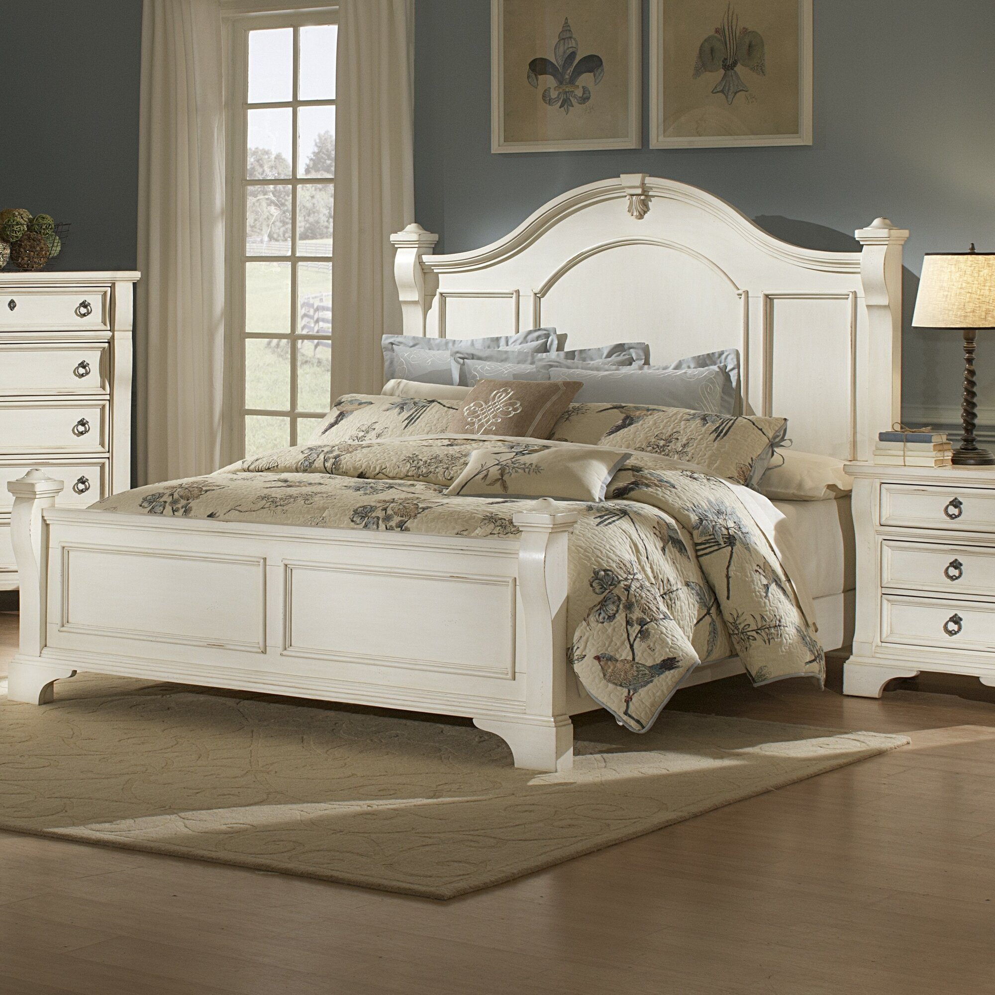 One allium way edinburg panel customizable bedroom set for R way bedroom furniture
