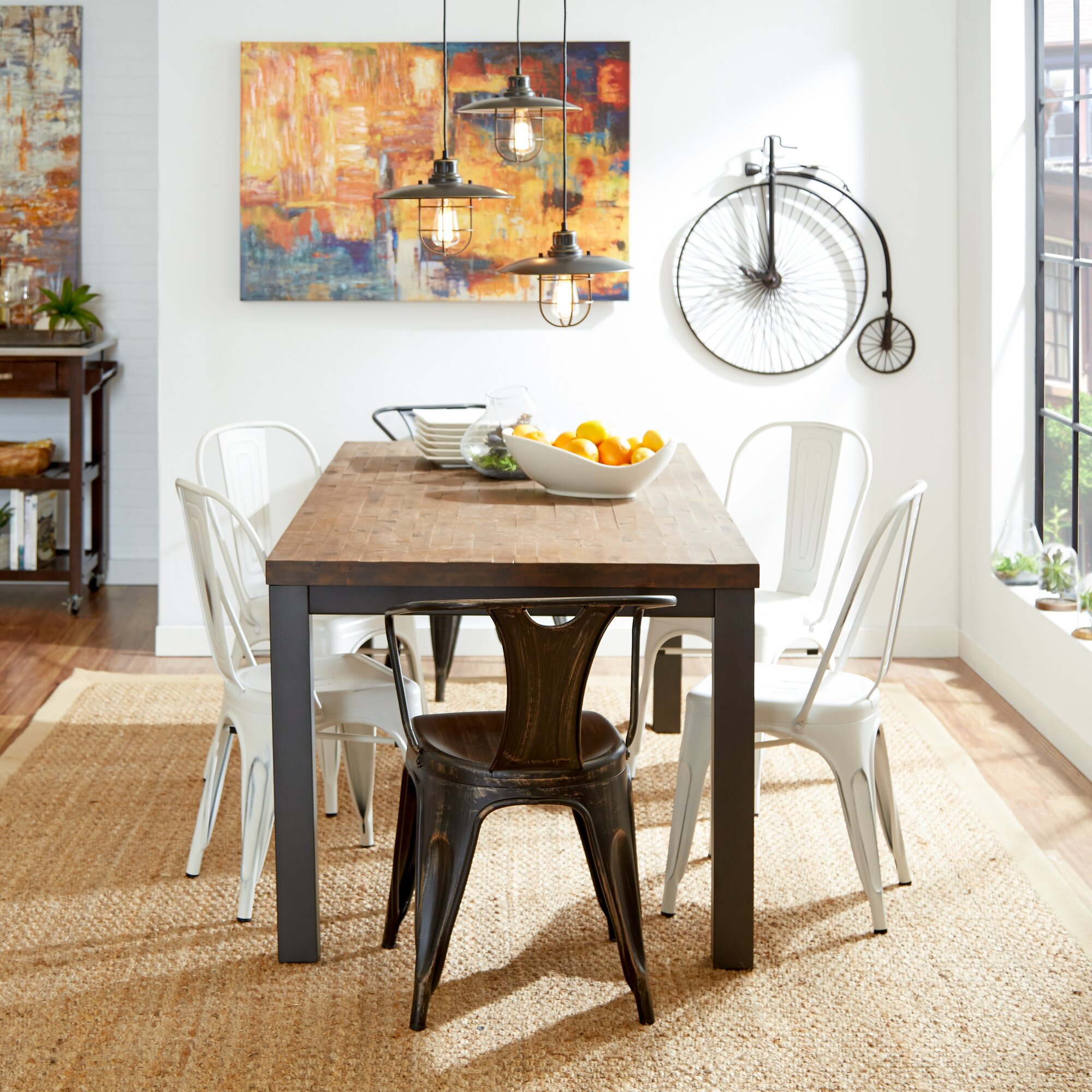 The Foundry Ii Cafe Rollins Dining Table Art Furniture: Leo Dining Table & Reviews