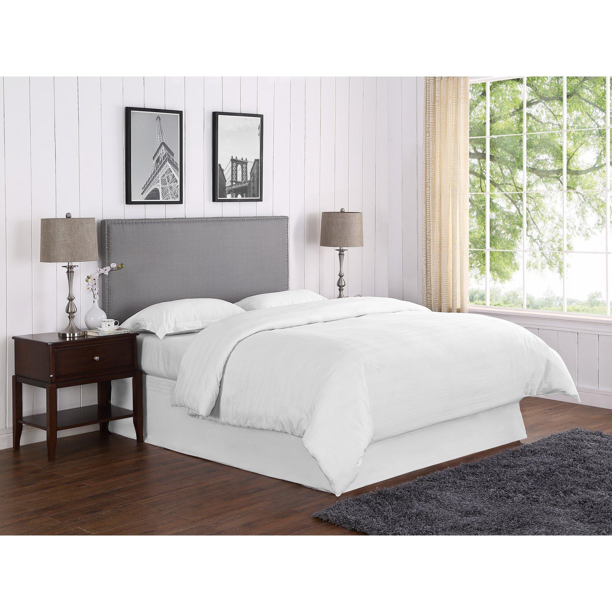 Bed headboard upholstered - Kimberley Upholstered Panel Headboard