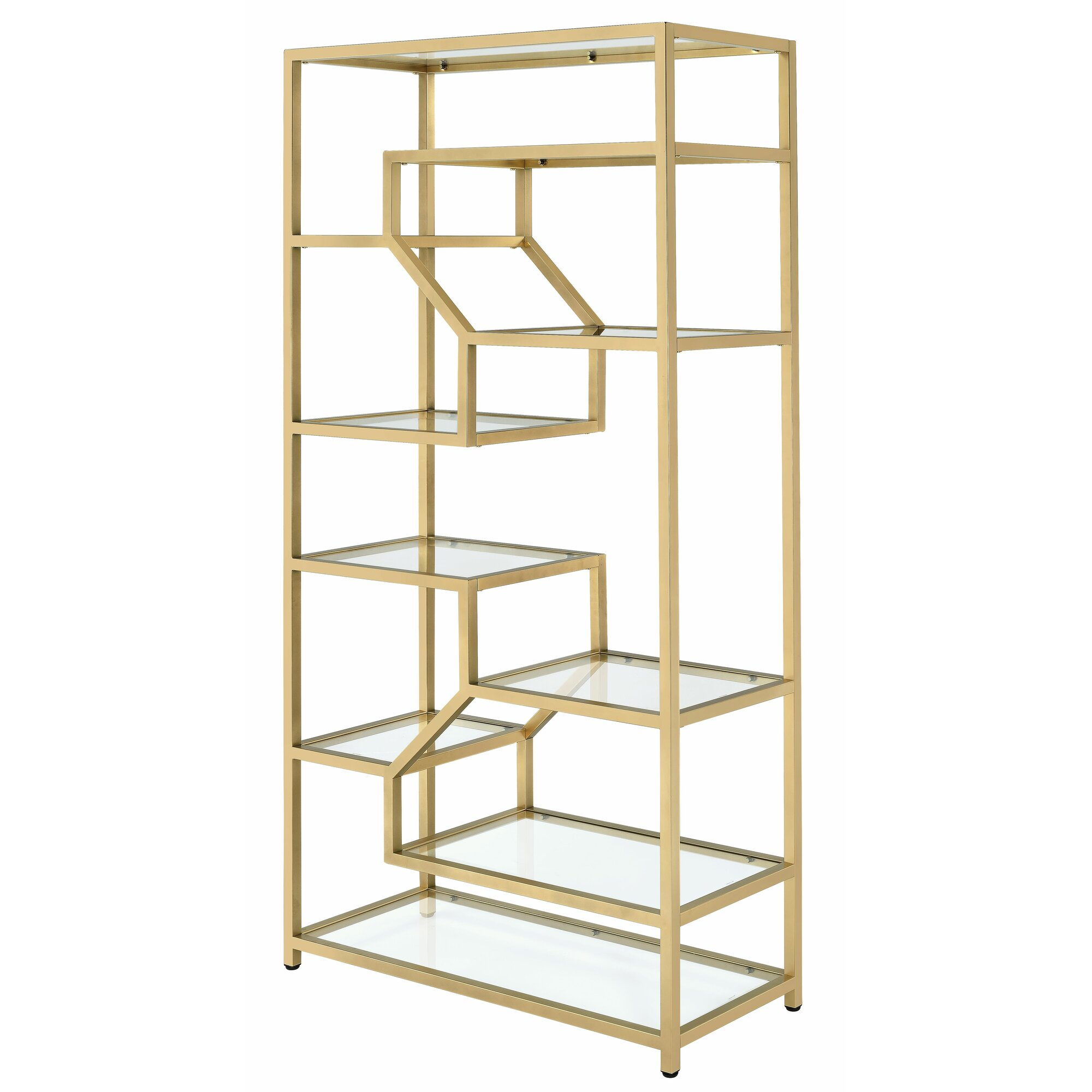 alida cube 77 etagere bookcase joss main. Black Bedroom Furniture Sets. Home Design Ideas