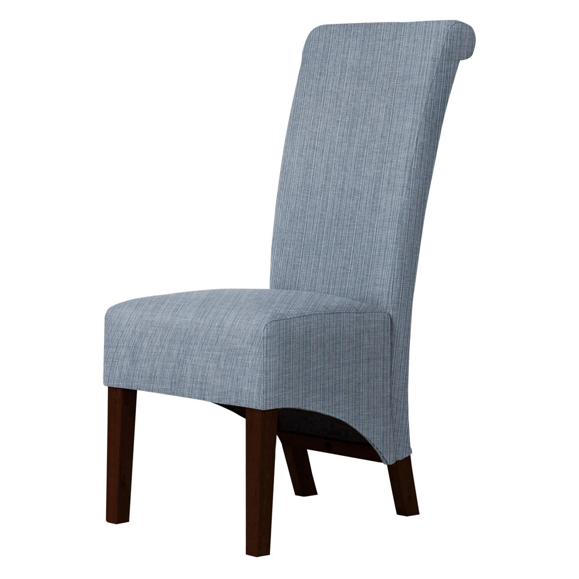 Red barrel studio keyesport upholstered dining chair for Red upholstered dining chair
