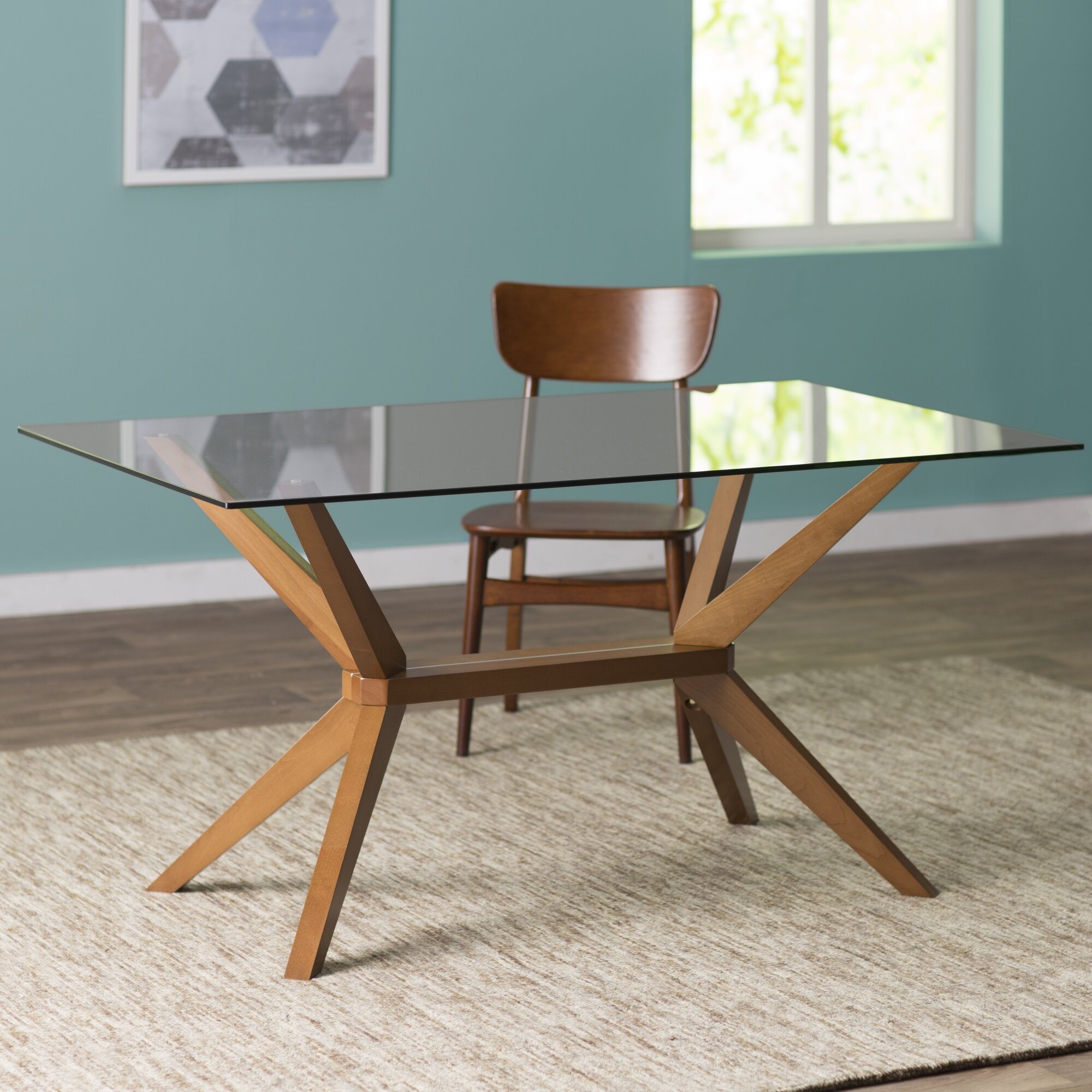 Mid century dining table - Killyglen Dining Table